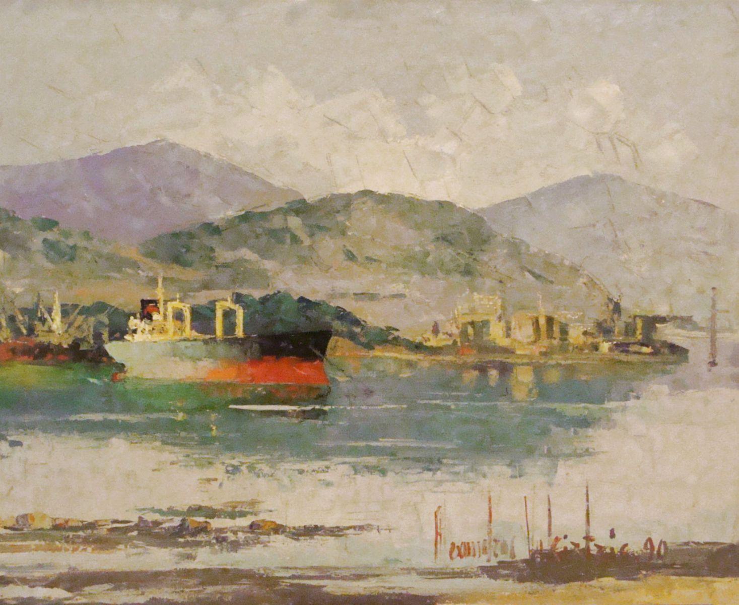 Αλέξανδρος Βακιρτζής 80×100 Λάδι σε καμβά Alexandros Vakirtzis 80 x 100 cm Oils on canvas