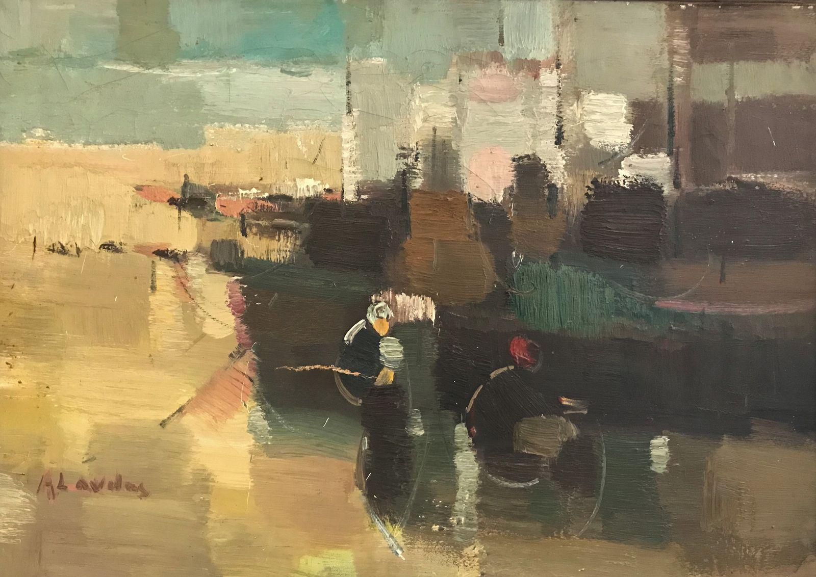 Απόστολος Λάβδας 50×70 εκ. Λάδια σε καμβά Apostolos Lavdas 50×70 cm Oils on canvas