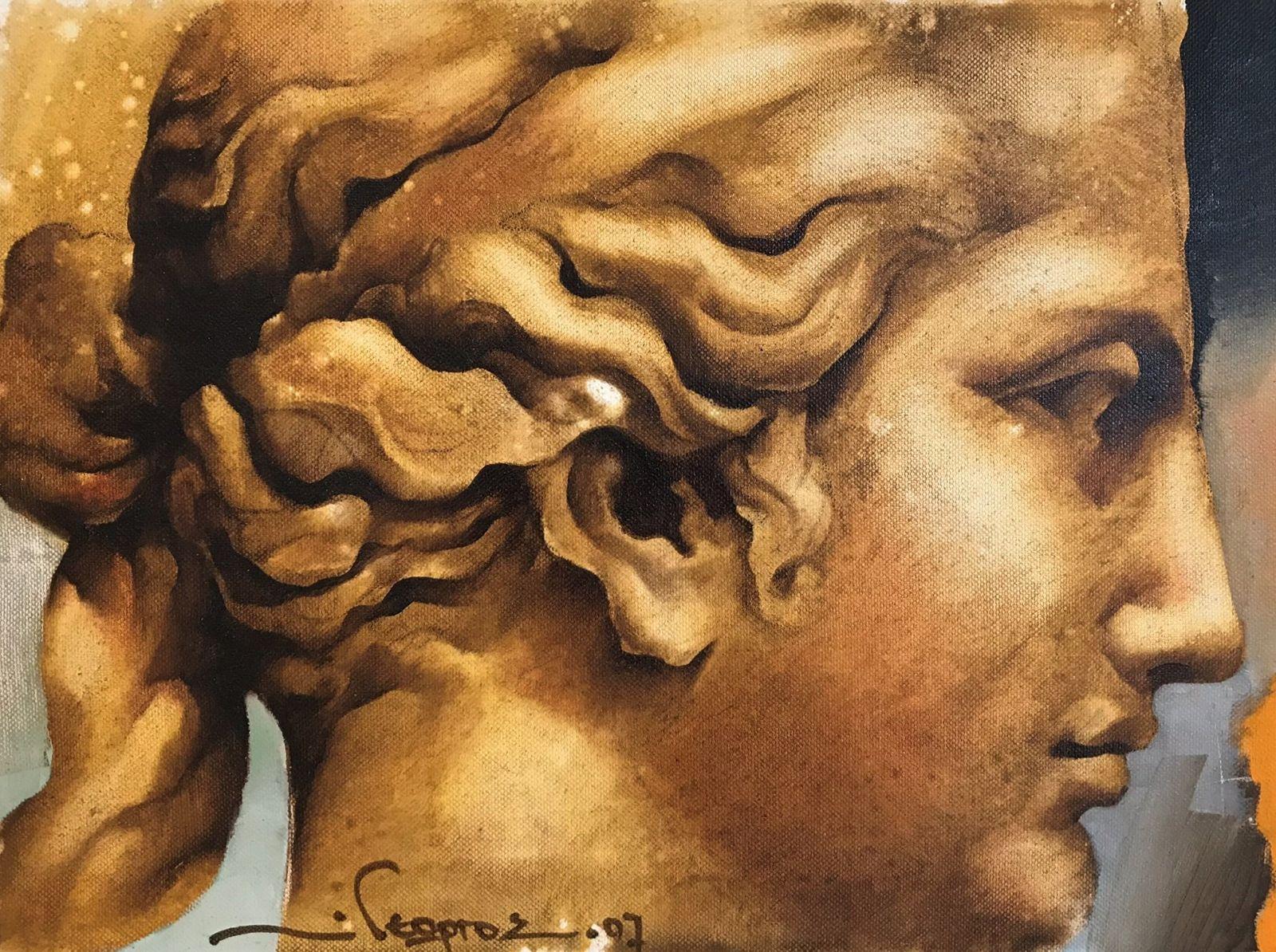 Γεώργου 30×40 Ακρυλικά σε καμβά Georgou 30×40 Acrylics on canvas