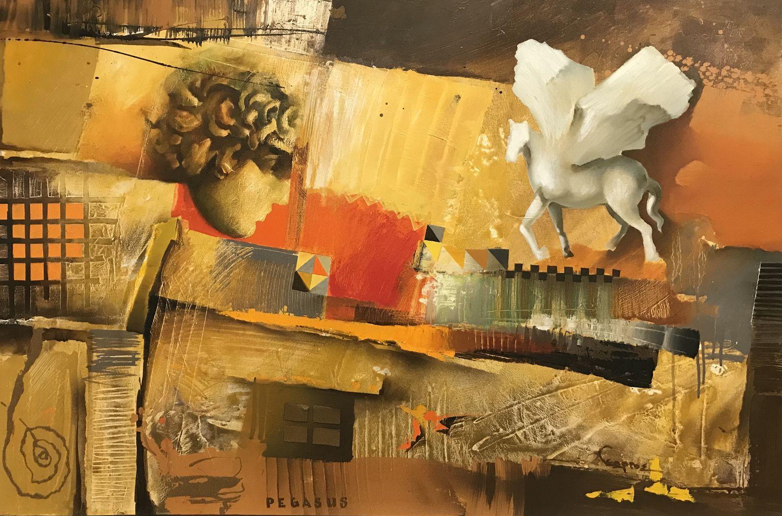 Γεώργου 80×120 Ακρυλικά σε καμβά Georgou 80×120 Acrylics on canvas