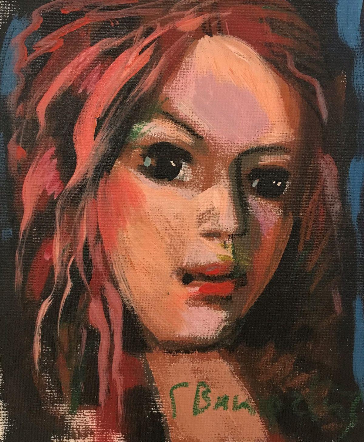 Γιάννης Βακιρτζής 21×25 Ακρυλικά σε καμβά Yiannis Vakirtzis 21×25 Acrylics on canvas.jpg