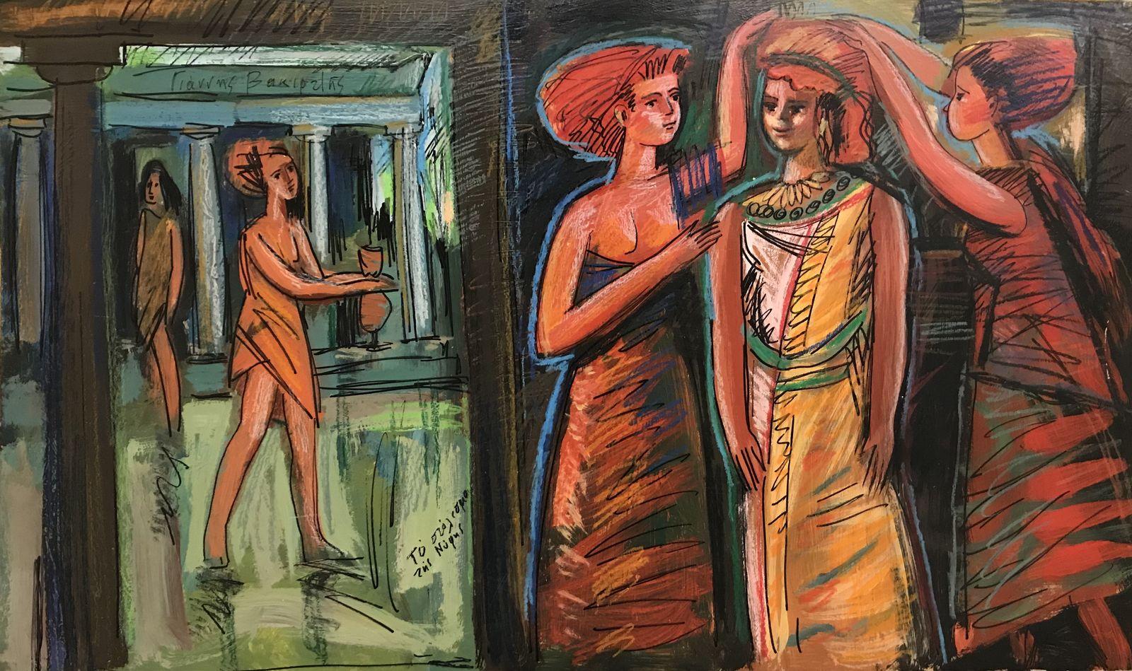 Γιάννης Βακιρτζής 50×85 Ακρυλικά σε καμβά Yiannis Vakirtzis 50×85 Acrylics on canvas.jpg