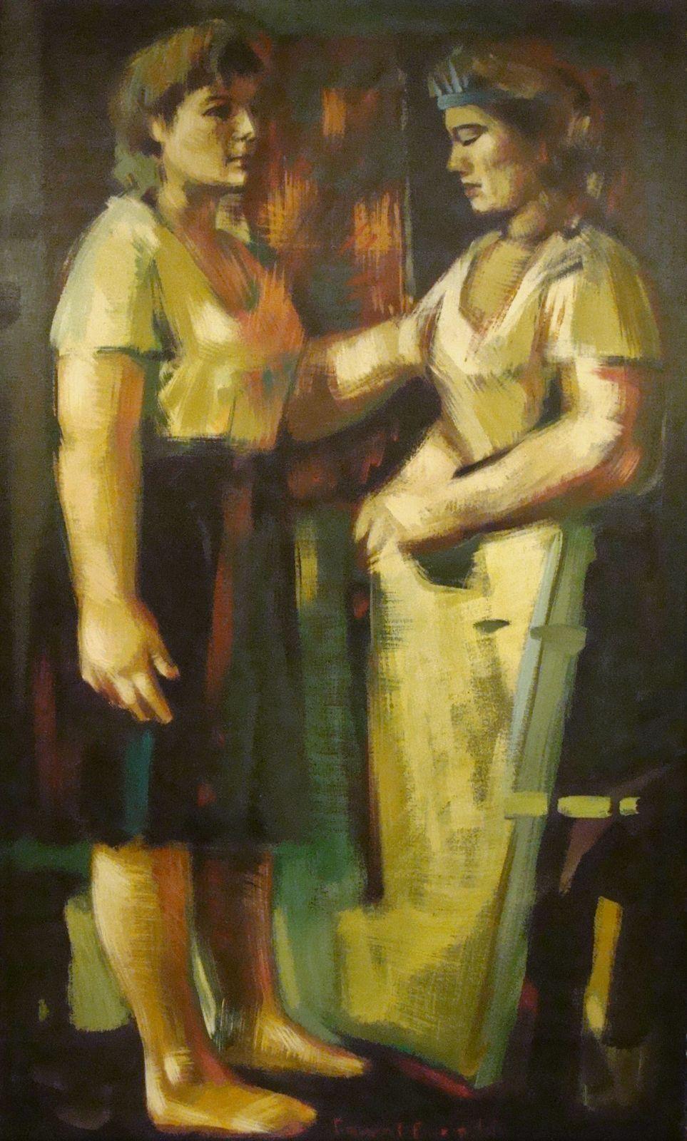 Γιάννης Βακιρτζής 60×100 Λάδι σε καμβά Yiannis Vakirtzis 60×100 Oils on canvas.jpg
