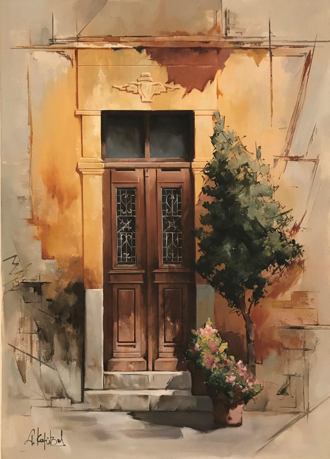 Γιώργος Καλύβας 50×70 εκ Ακρυλικά σε καμβά George Kalyvas 50×70 cm Acrylics on canvas