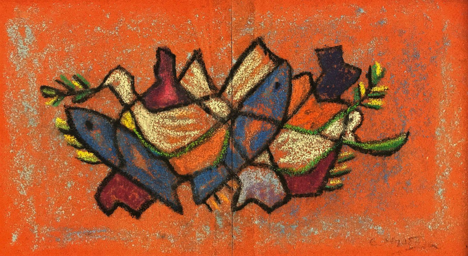 Ειρήνη Μπαδόλα 26×46 εκ. Μικτή τεχνική Irene Badola 26×46 cm Mixed media