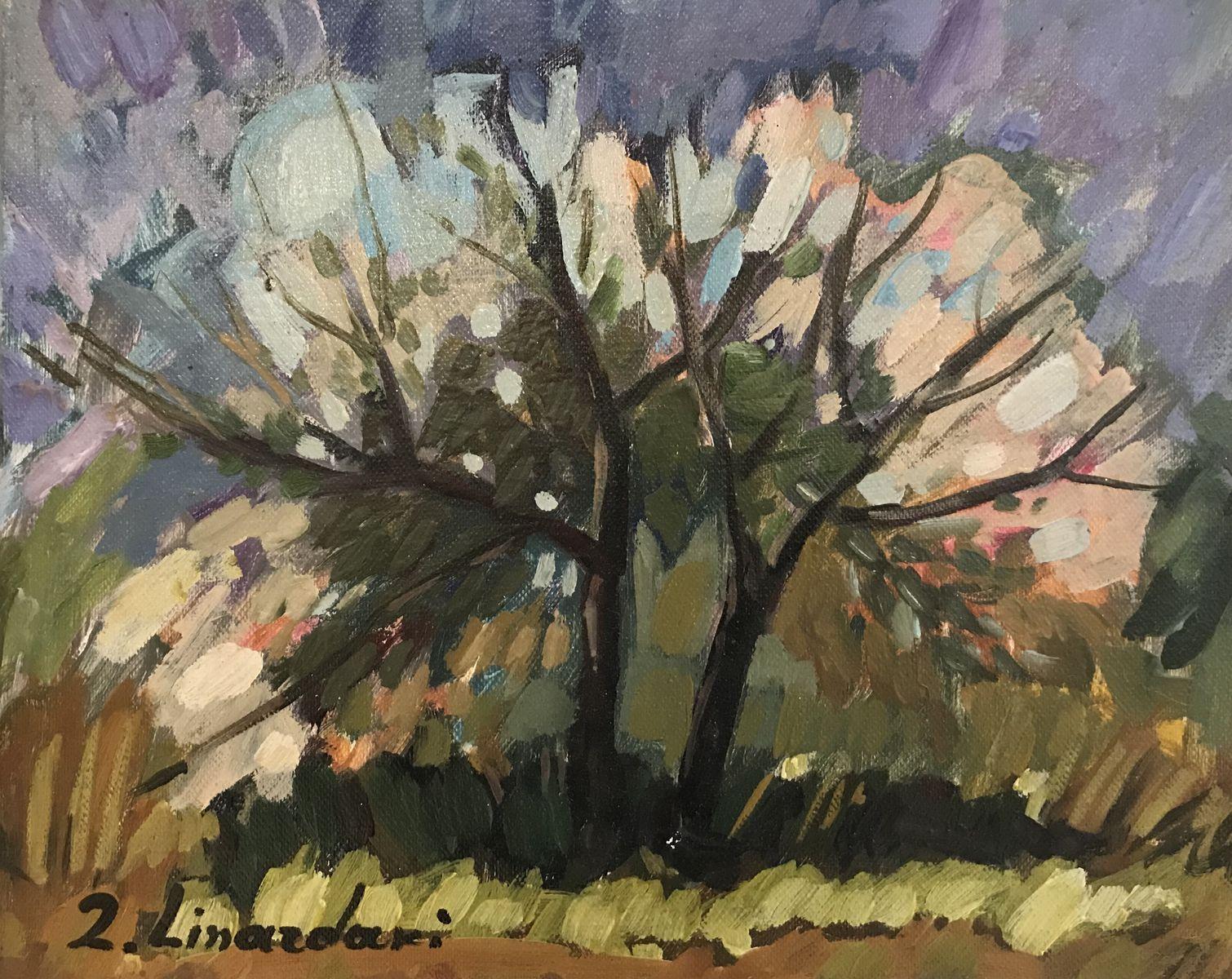 Ζήνα Λιναρδάκη 24×30 εκ. Λάδια σε καμβά Zina Linardaki 24×30 cm Oils on canvas