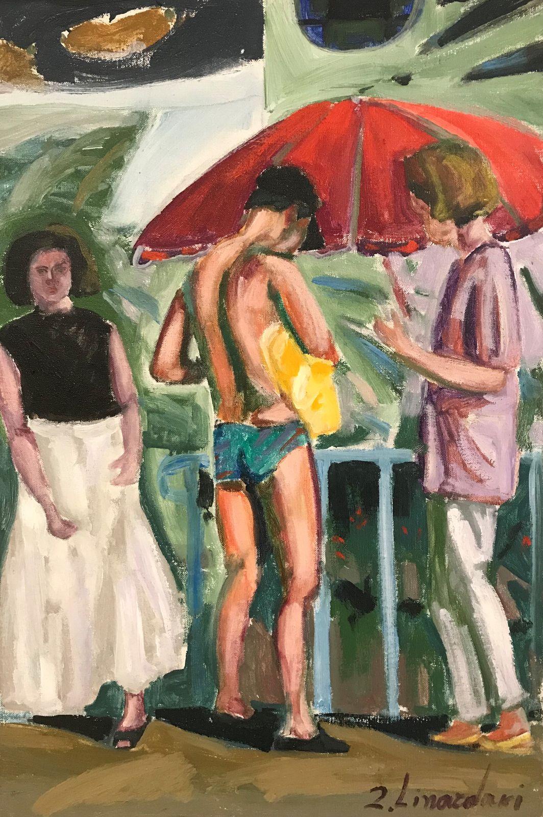 Ζήνα Λιναρδάκη 40×60 εκ. Λάδια σε καμβά Zina Linardaki 40×60 cm Oils on canvas