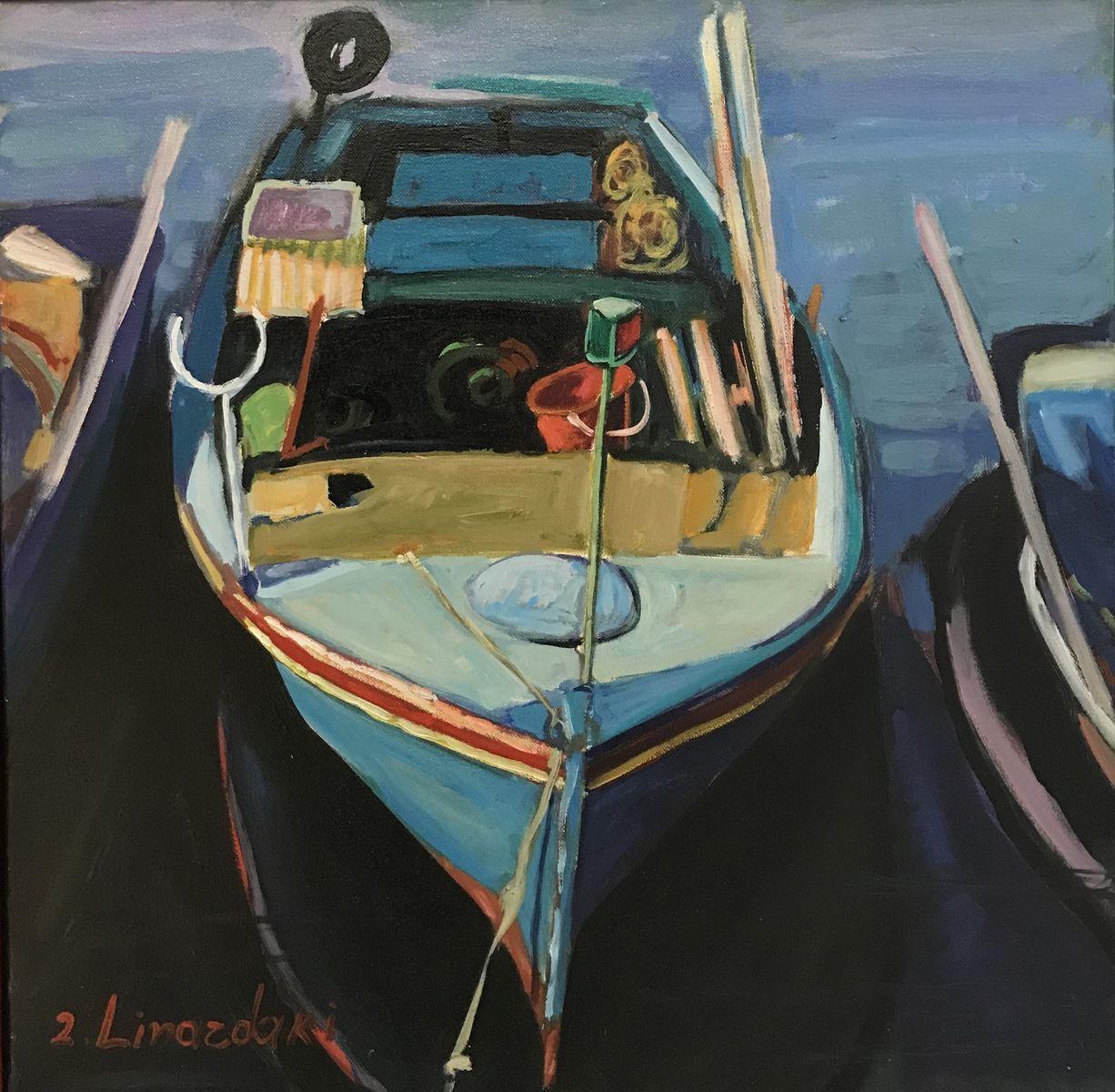 Ζήνα Λιναρδάκη 50×50 εκ. Λάδια σε καμβά Zina Linardaki 50×50 cm Oils on canvas