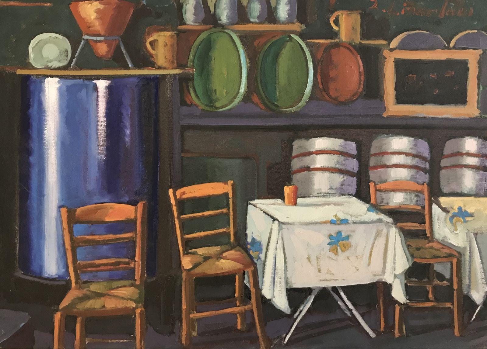 Ζήνα Λιναρδάκη 50×70 εκ. Λάδια σε καμβά Zina Linardaki 50×70 cm Oils on canvas (1)