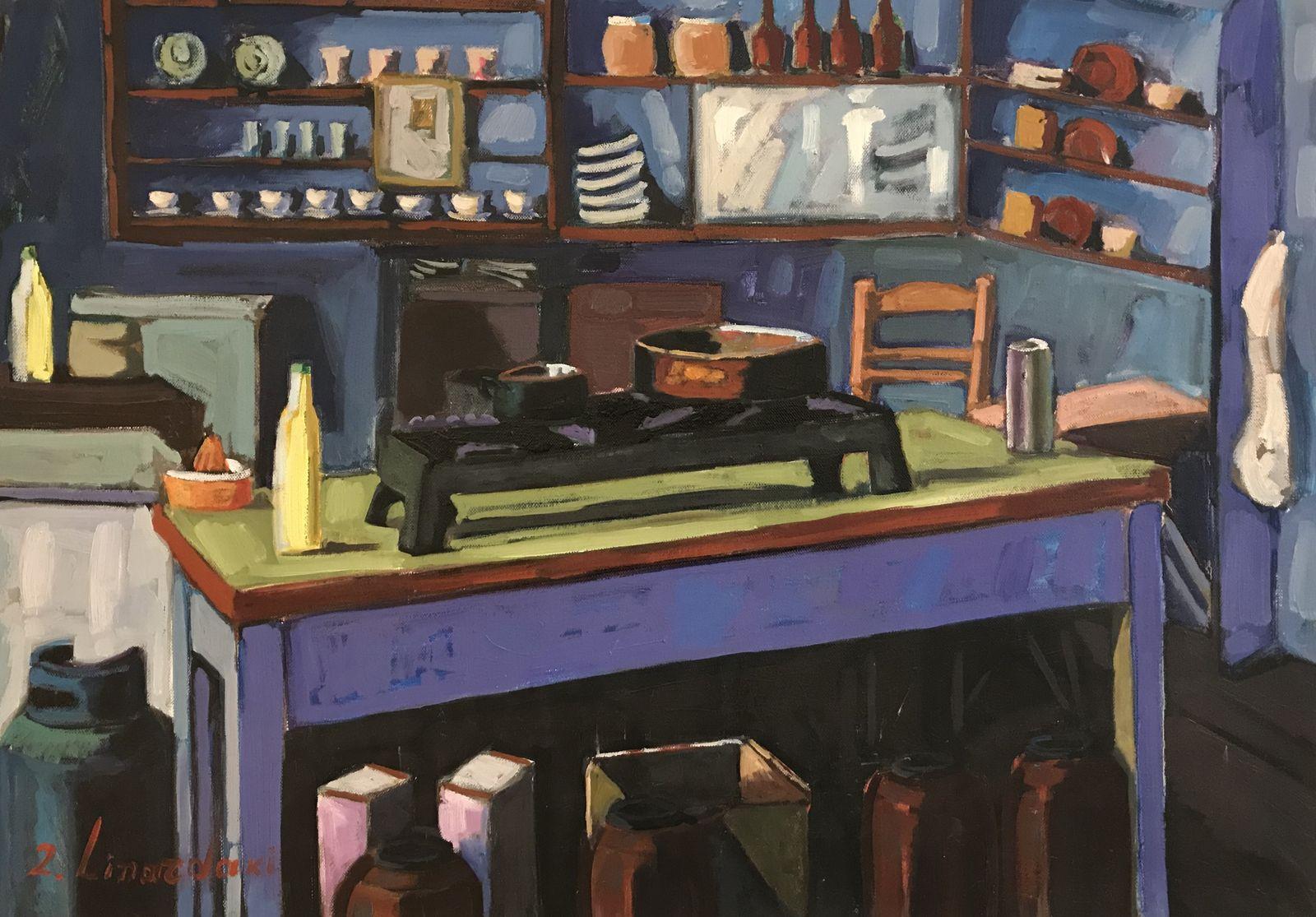 Ζήνα Λιναρδάκη 50×70 εκ. Λάδια σε καμβά Zina Linardaki 50×70 cm Oils on canvas