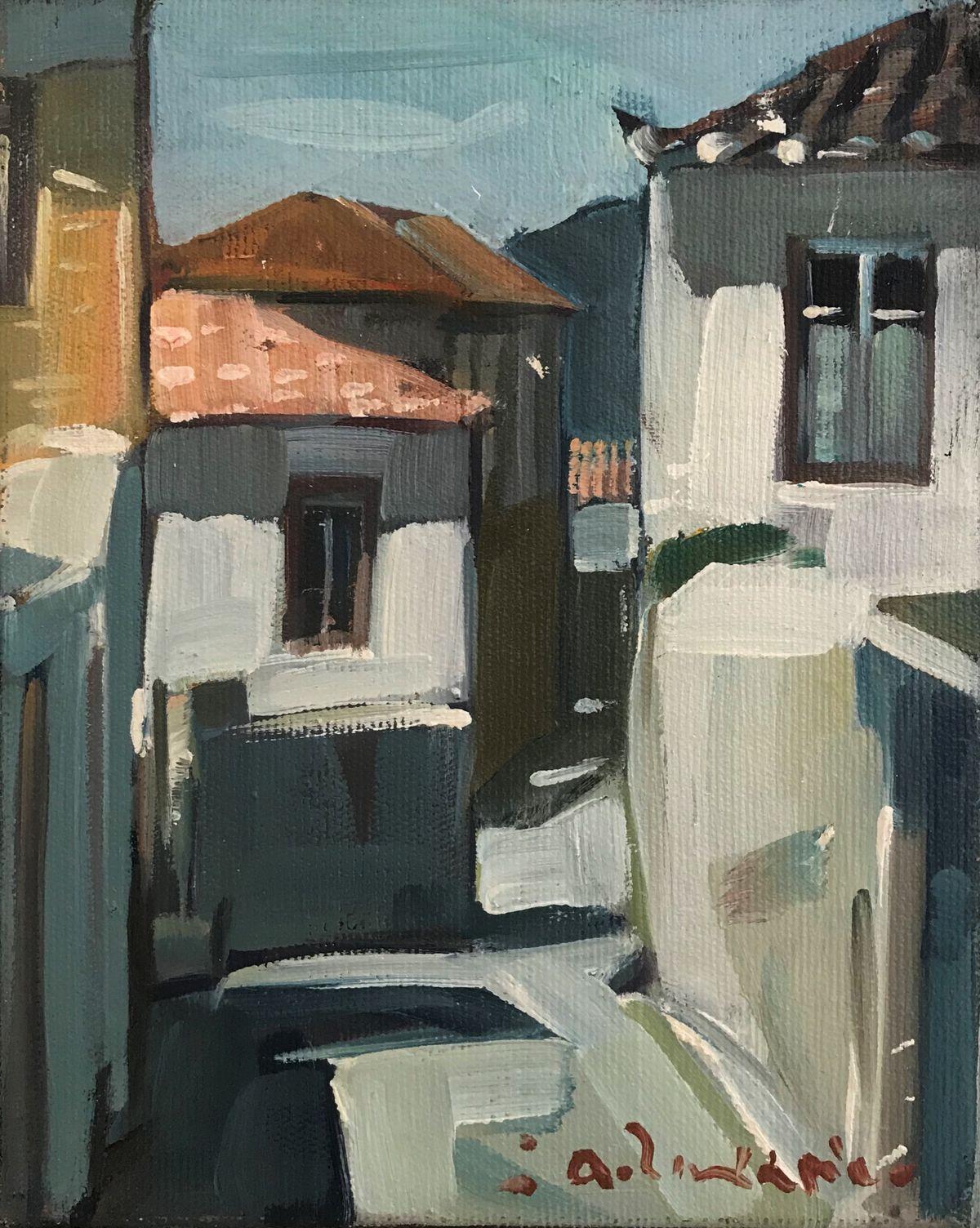 Θανάσης Ζαχαρίου 24×30 Λάδια σε καμβά Thanassis Zachariou 24×30 cm Oils on canvas