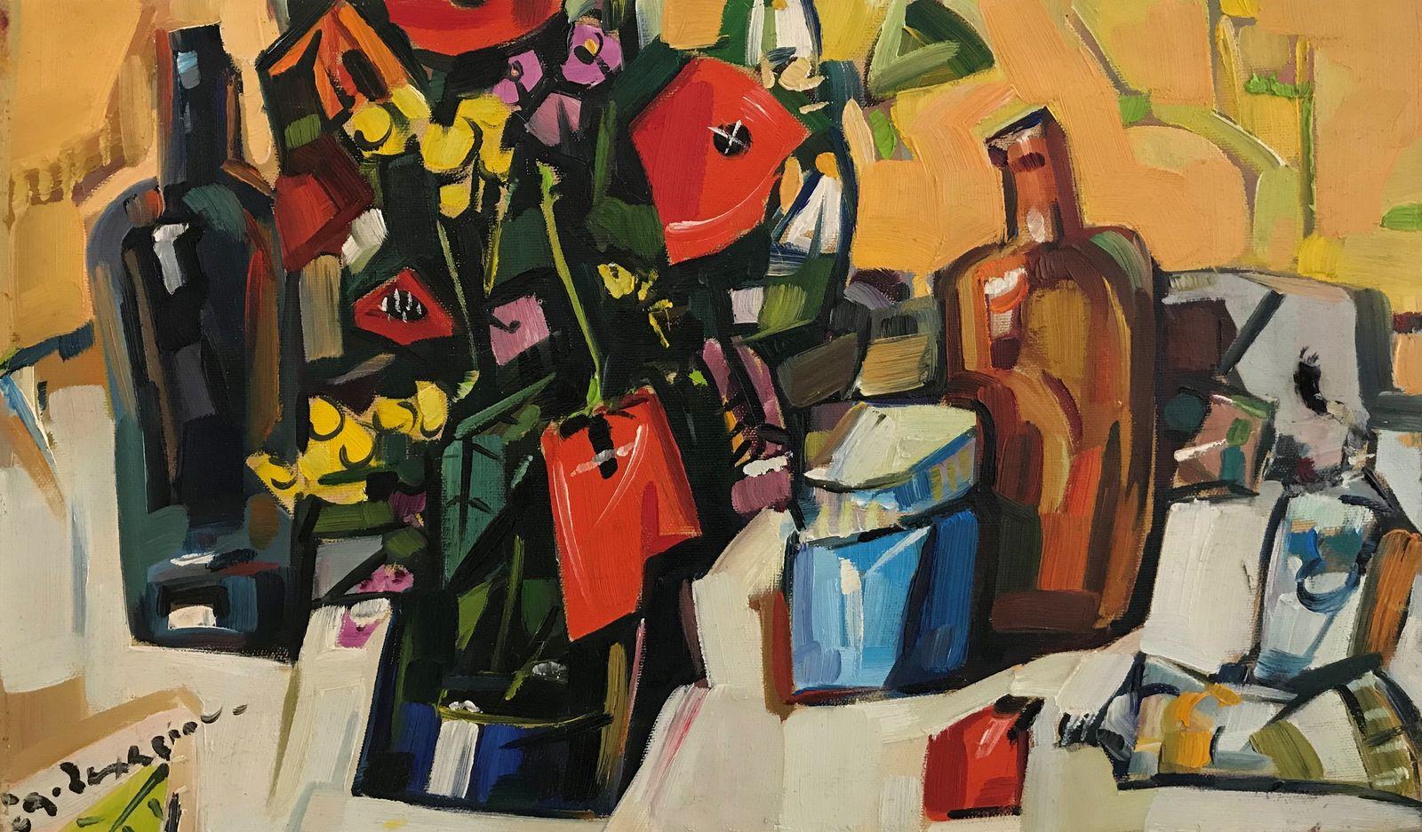 Θανάσης Ζαχαρίου 30×50 Λάδια σε καμβά Thanassis Zachariou 30×50 cm Oils on canvas