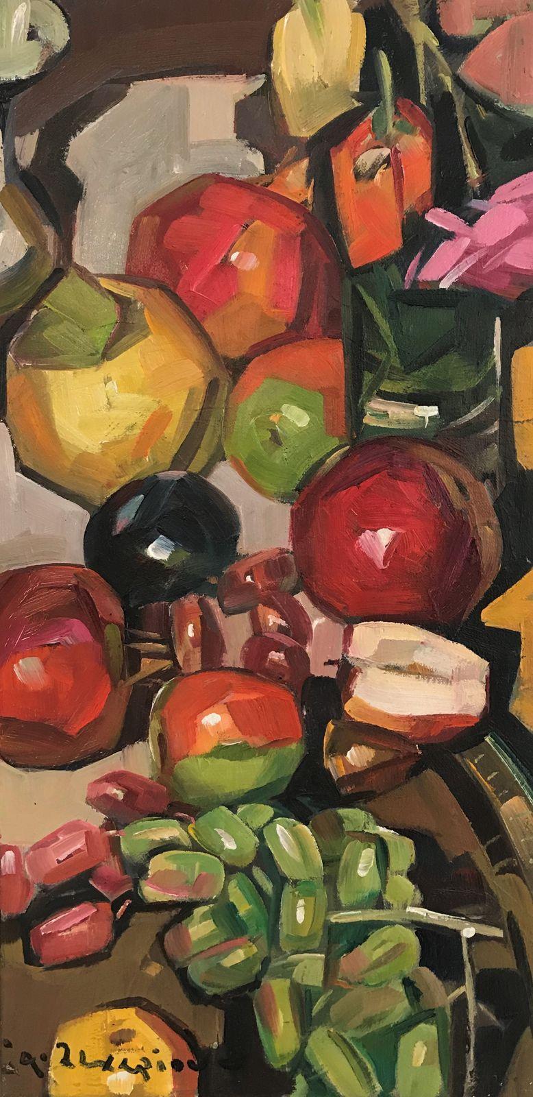 Θανάσης Ζαχαρίου 30×60 Λάδια σε καμβά Thanassis Zachariou 30×60 cm Oils on canvas