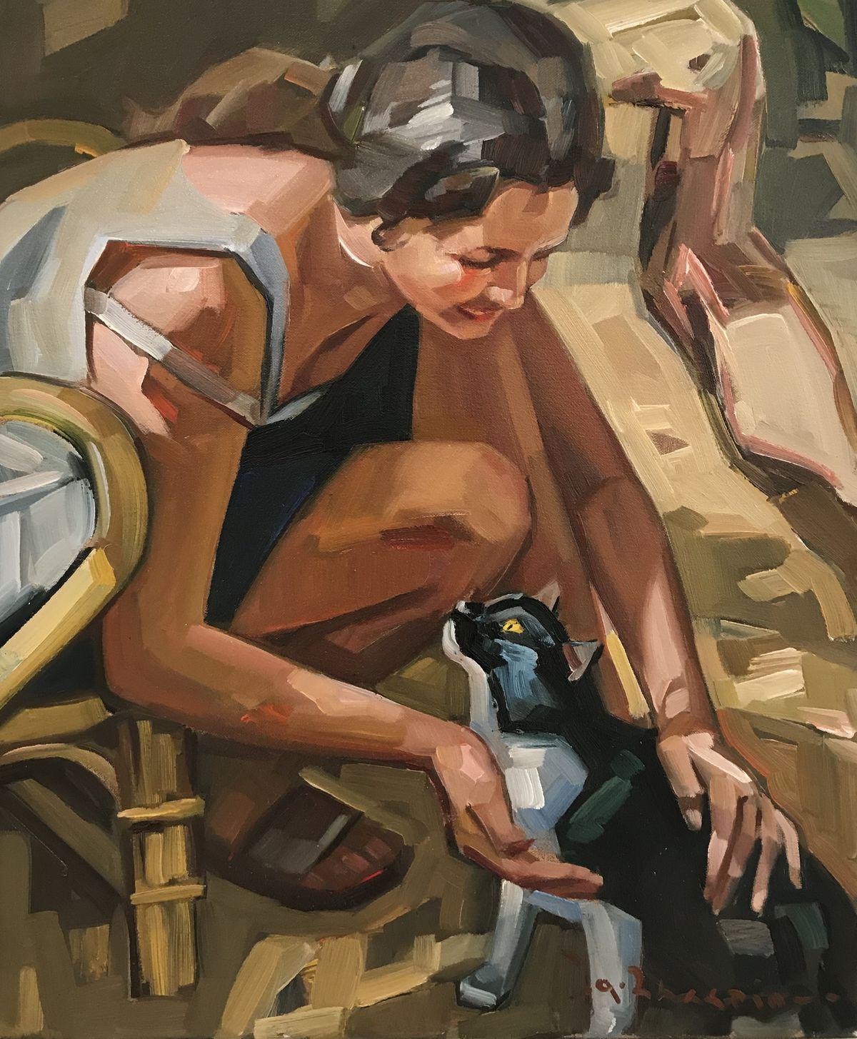 Θανάσης Ζαχαρίου 50×60 Λάδια σε καμβά Thanassis Zachariou 50×60 cm Oils on canvas