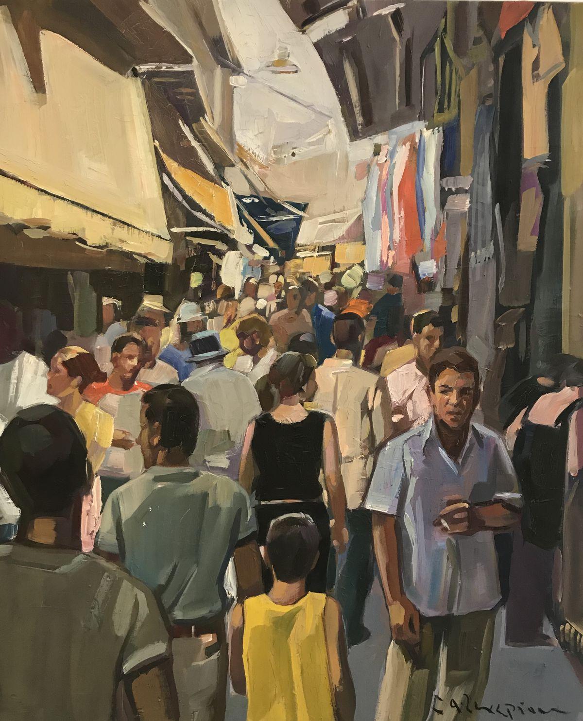 Θανάσης Ζαχαρίου 65×80 Λάδια σε καμβά Thanassis Zachariou 65×80 cm Oils on canvas