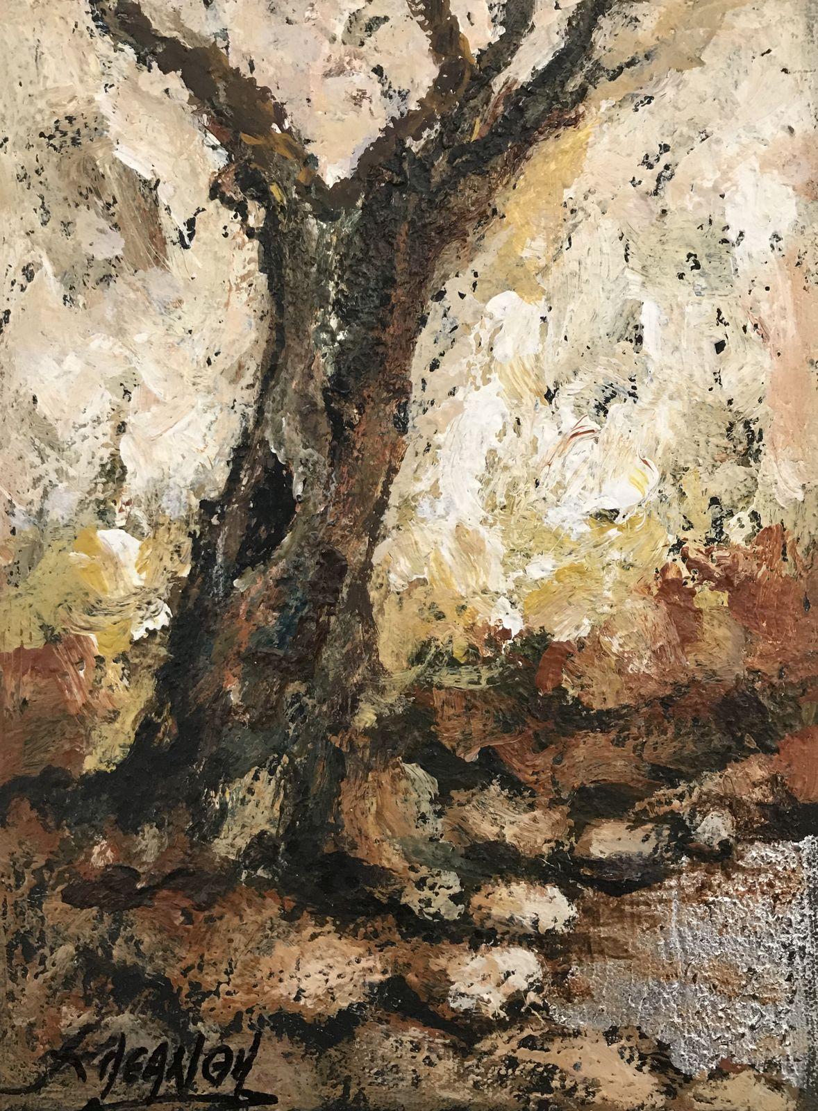 Κλεάνθη 18×24 εκ. Ακρυλικά σε καμβά Kleanthi 18×24 cm Acrylics on canvas