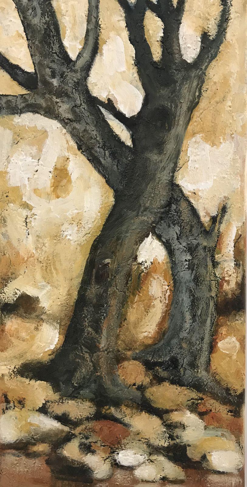 Κλεάνθη 30×60 εκ. Ακρυλικά σε καμβά Kleanthi 30×60 cm Acrylics on canvas