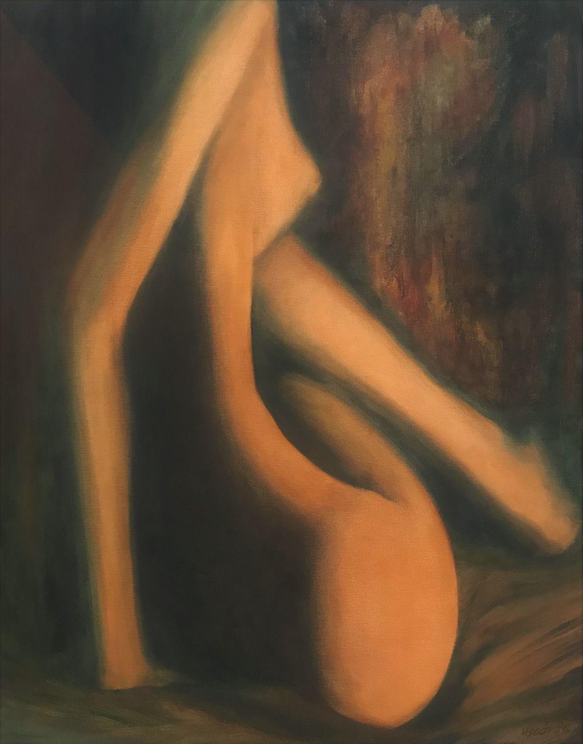 Κλεάνθη 64×80 εκ. Ακρυλικά σε καμβά Kleanthi 64×80 cm Acrylics on canvas