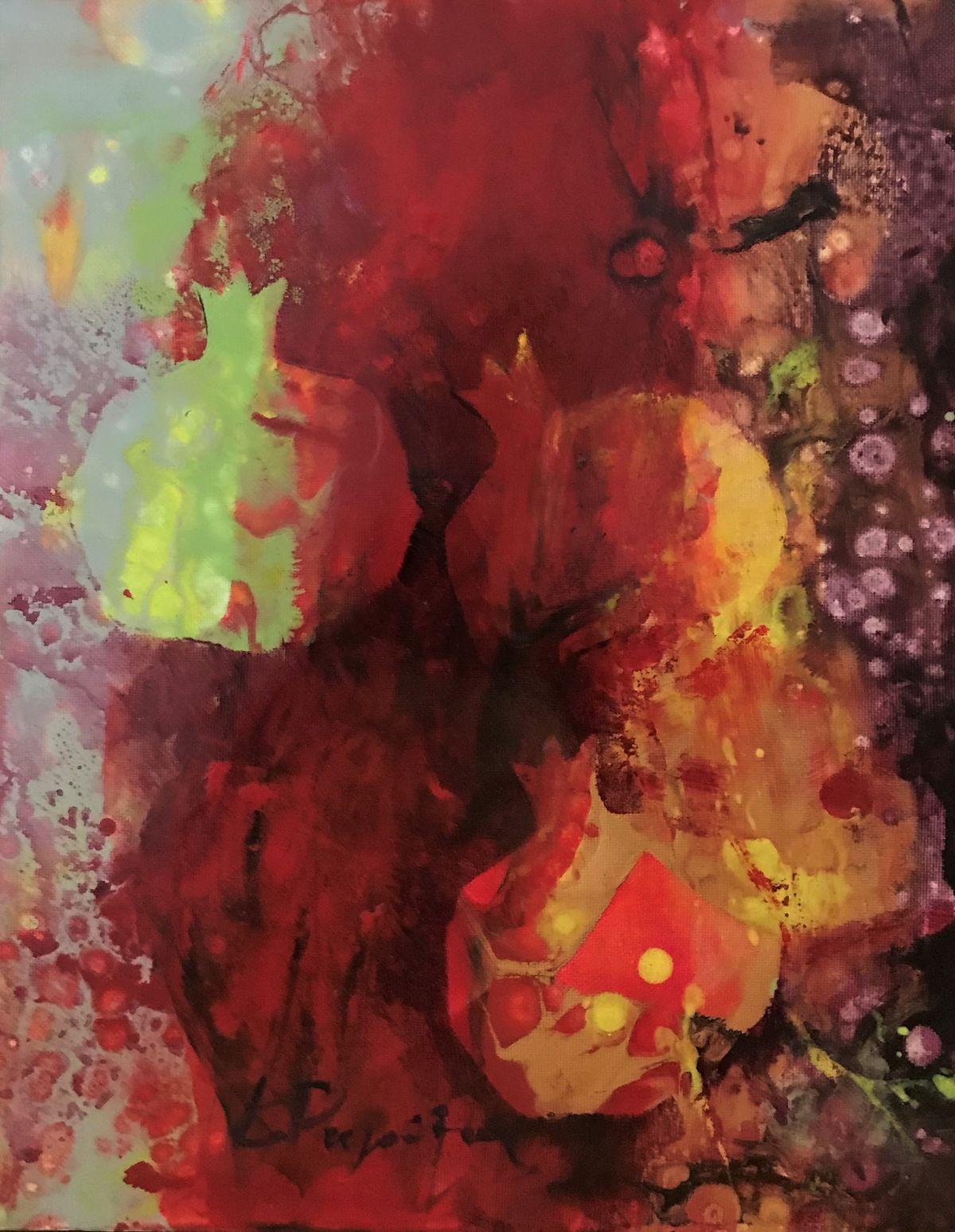 Κώστας Ρηγούλης 24×30 εκ. Λάδια σε καμβά Costas Rigoulis 24×30 cm Oils on canvas (1)