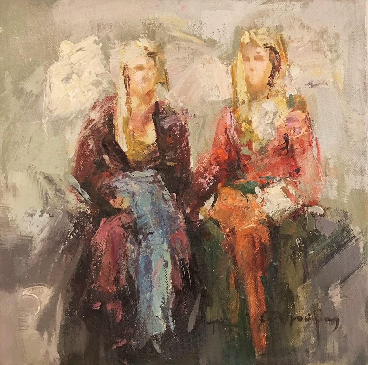 Κώστας Ρηγούλης 30×30 εκ. Λάδια σε καμβά Costas Rigoulis 30×30 cm Oils on canvas (4)