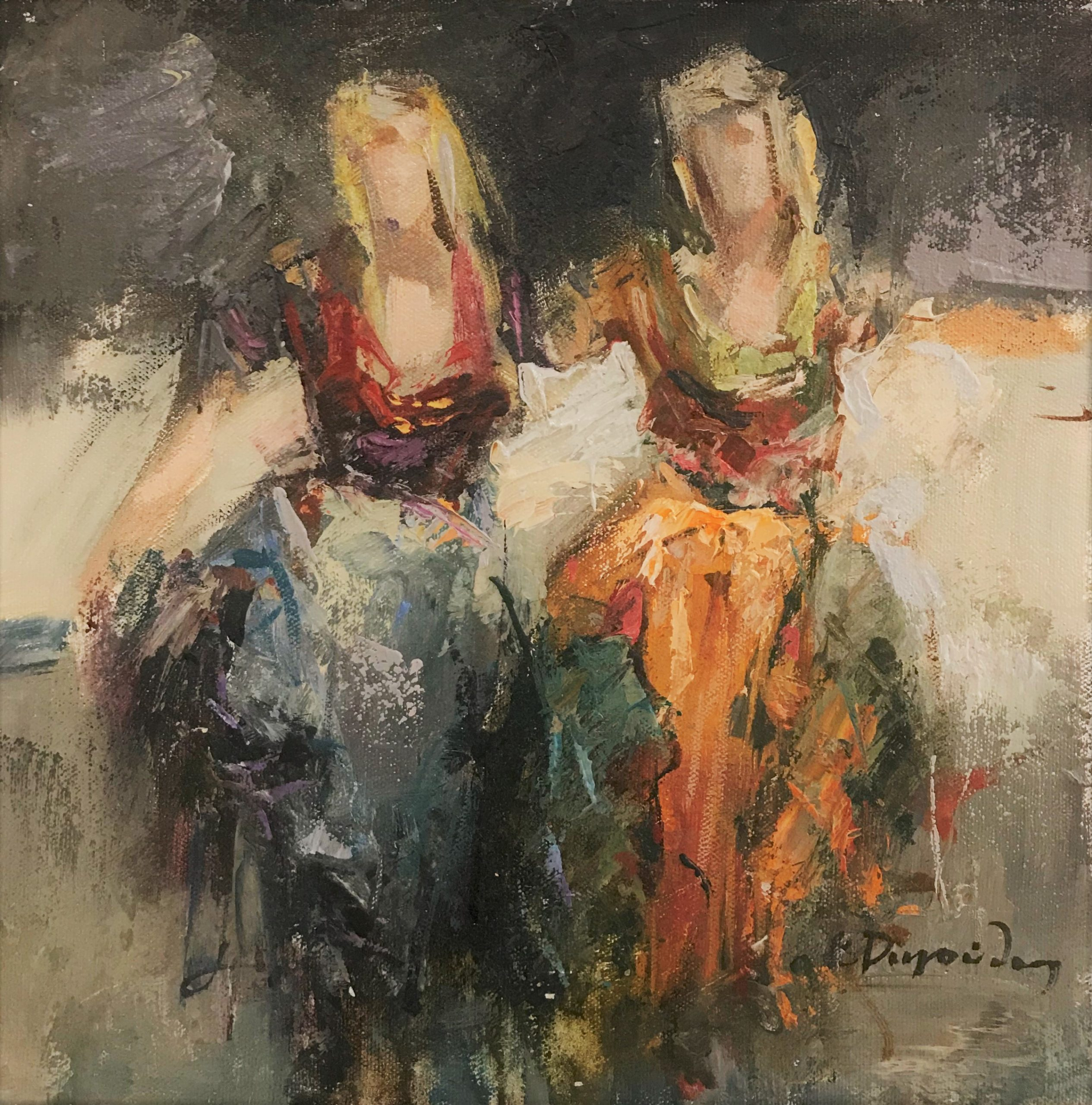 Κώστας Ρηγούλης 30×30 εκ. Λάδια σε καμβά Costas Rigoulis 30×30 cm Oils on canvas (5)