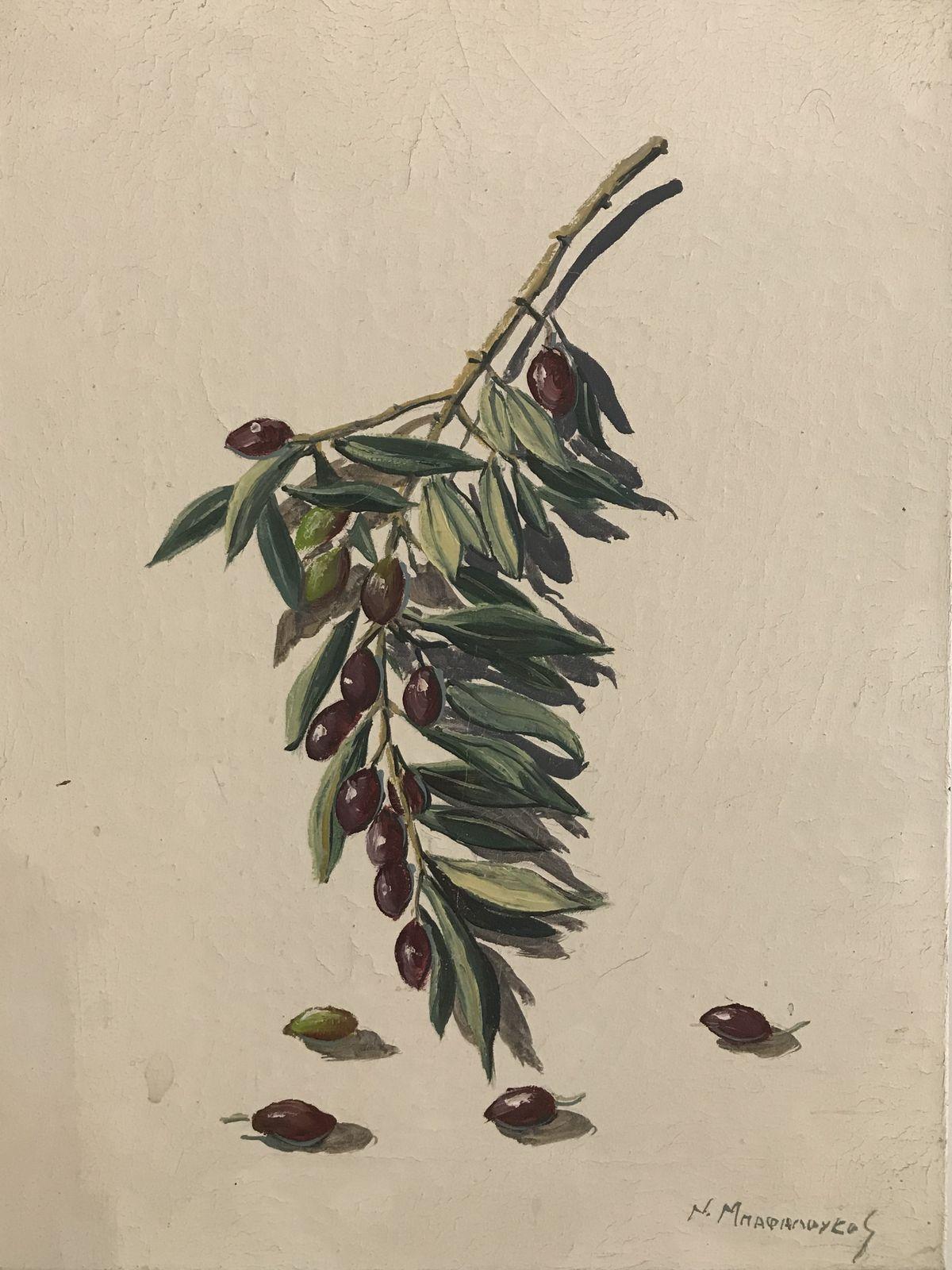 Νικόλας Μπαφαλούκος 30×40 εκ. Ακρυλικά σε καμβά Nicholas Bafaloukos 30×40 cm Acrylics on canvas (1)
