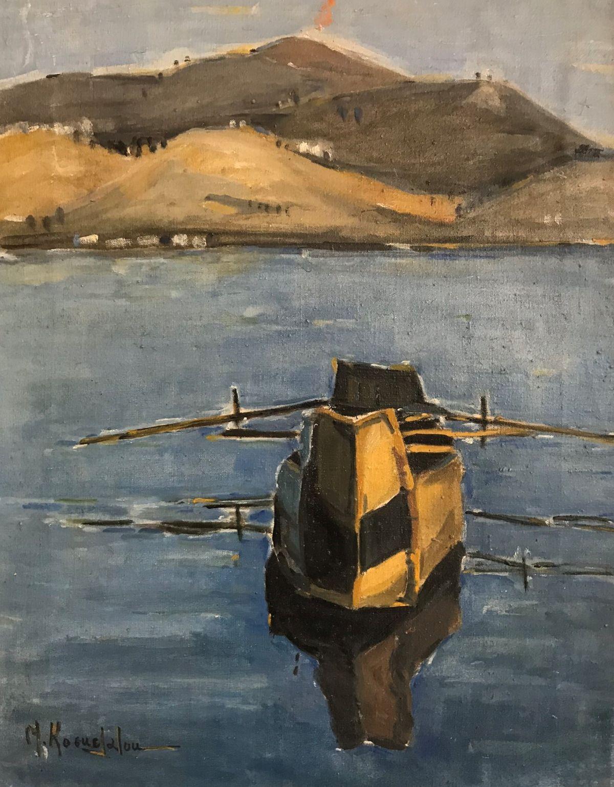 Νινέττα Κοσμετάτου 35×45 εκ. Λάδια σε καμβά Ninetta Kosmetatou 35×45 cm Oils on canvas