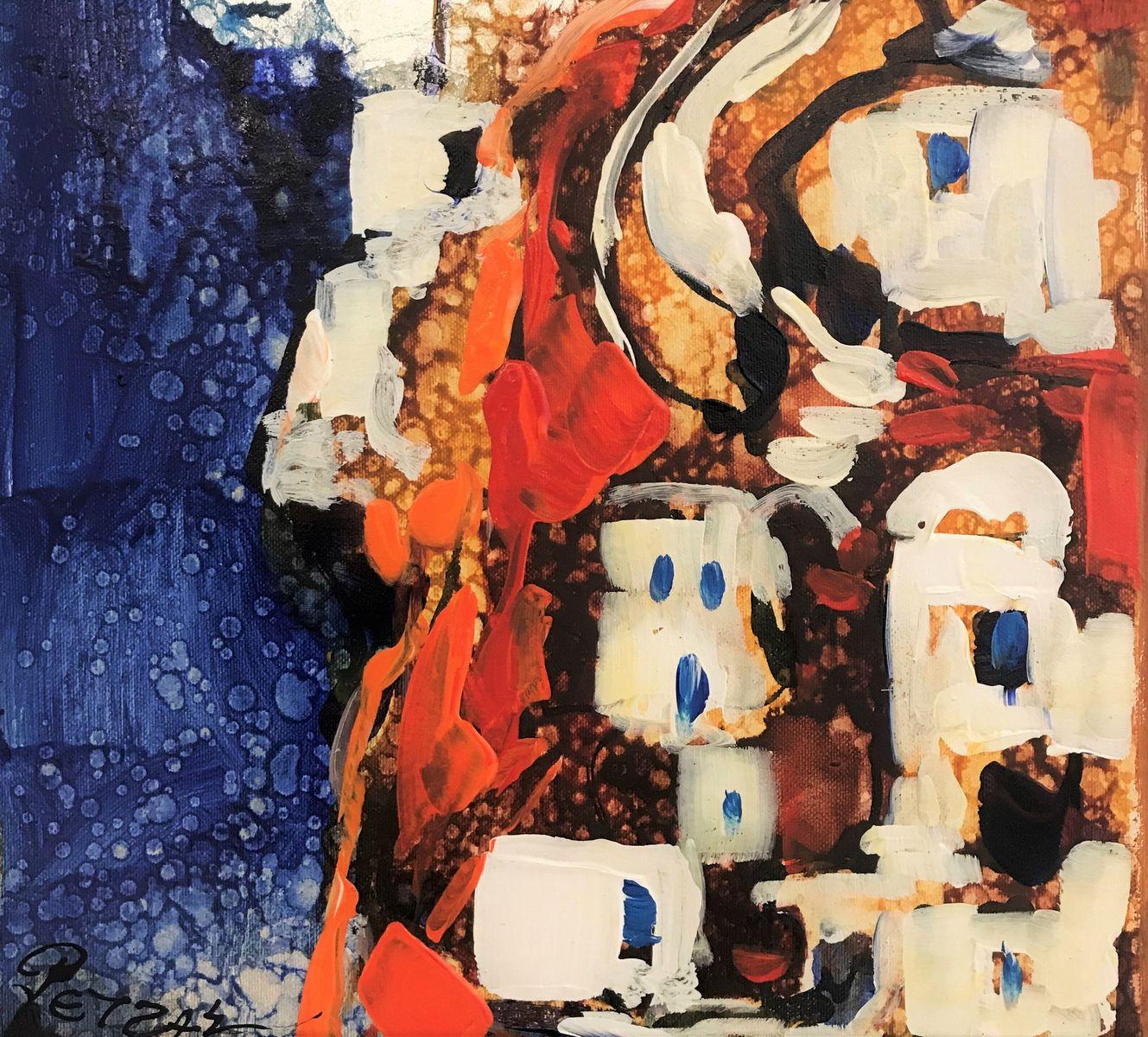 Ρέντης Ρετζάς 27×30 εκ. Ακρυλικά σε καμβά Redis Retzas 27×30 cm Acrylics on canvas