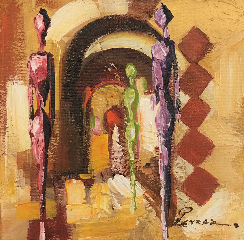 Ρέντης Ρετζάς 30×30 εκ. Ακρυλικά σε καμβά Redis Retzas 30×30 cm Acrylics on canvas (1)