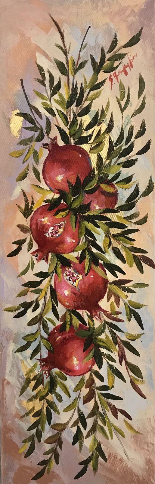 Σοφία Παπαγεωργίου 20×60 εκ. Λάδια σε καμβά Sofia Papageorgiou 20×60 cm Oils on canvas