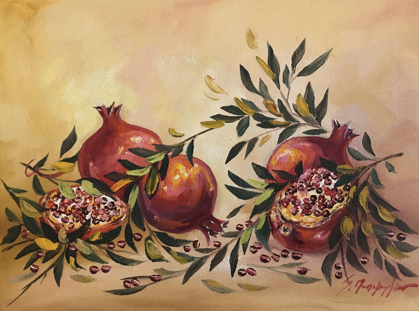 Σοφία Παπαγεωργίου 30×40 εκ. Λάδια σε καμβά Sofia Papageorgiou 30×40 cm Oils on canvas (1)