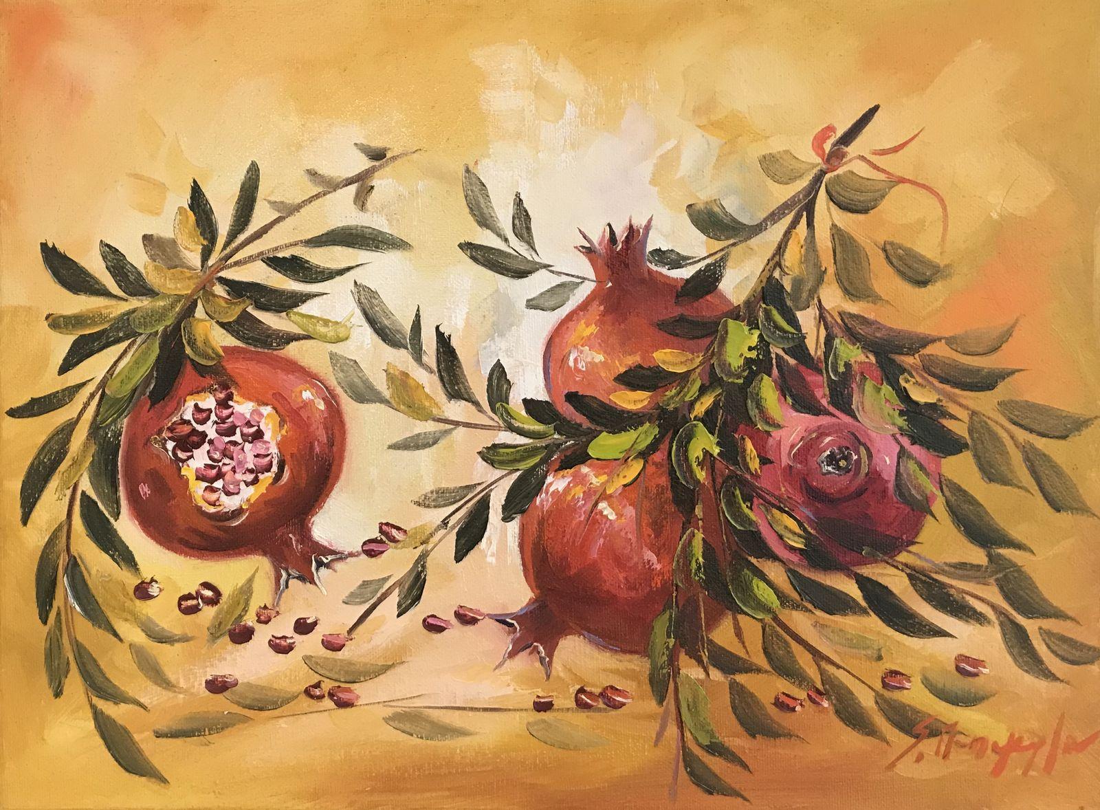 Σοφία Παπαγεωργίου 30×40 εκ. Λάδια σε καμβά Sofia Papageorgiou 30×40 cm Oils on canvas (2)