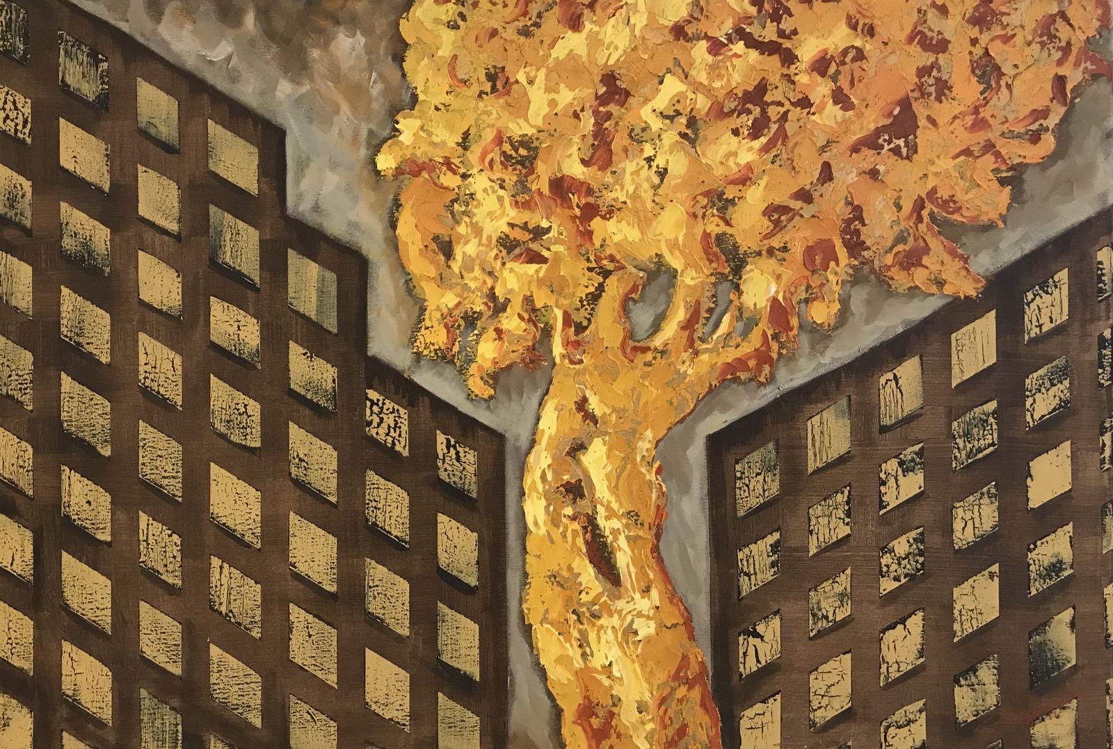 Σοφία Παπαγεωργίου 70×100 εκ. Λάδια σε καμβά Sofia Papageorgiou 70×100 cm Oils on canvas