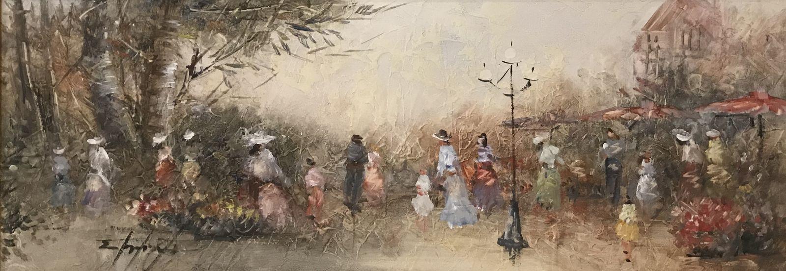 Σταματίνα Μαρνέζου 30×80 Ακρυλικά σε καμβά Stamatina Marnezou 30×80 Acrylics on canvas