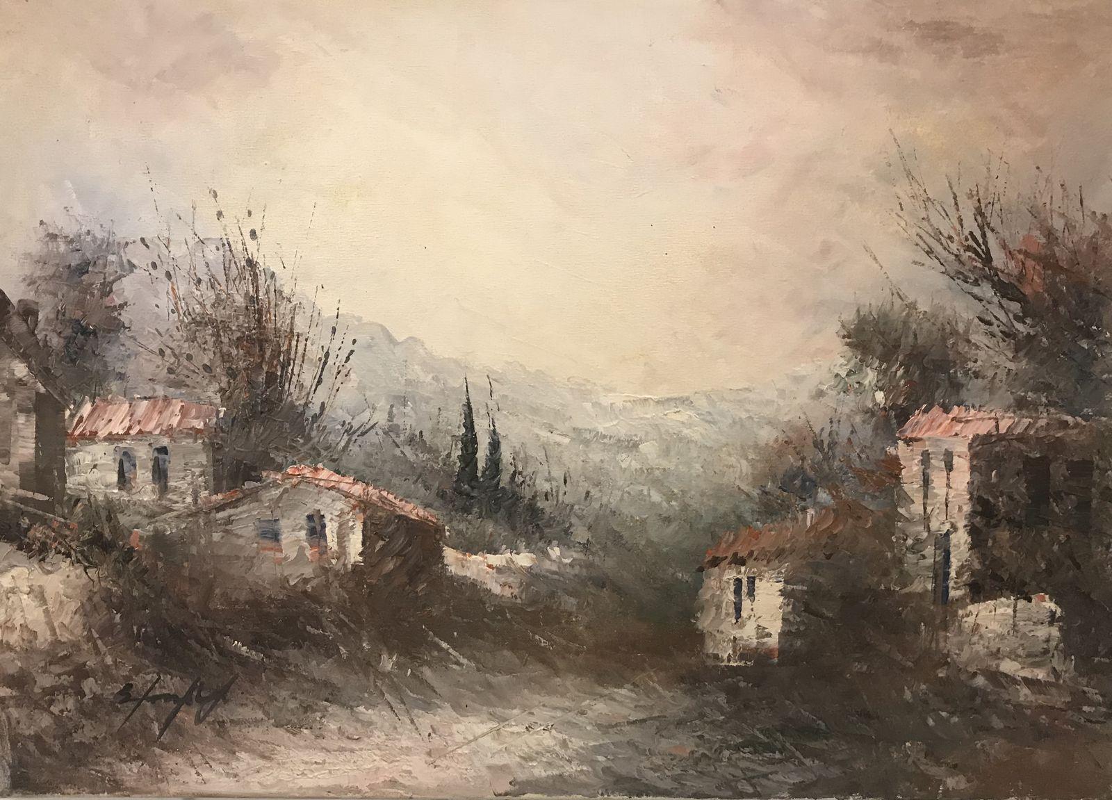 Σταματίνα Μαρνέζου 50×70 Ακρυλικά σε καμβά Stamatina Marnezou 50×70 Acrylics on canvas (2)