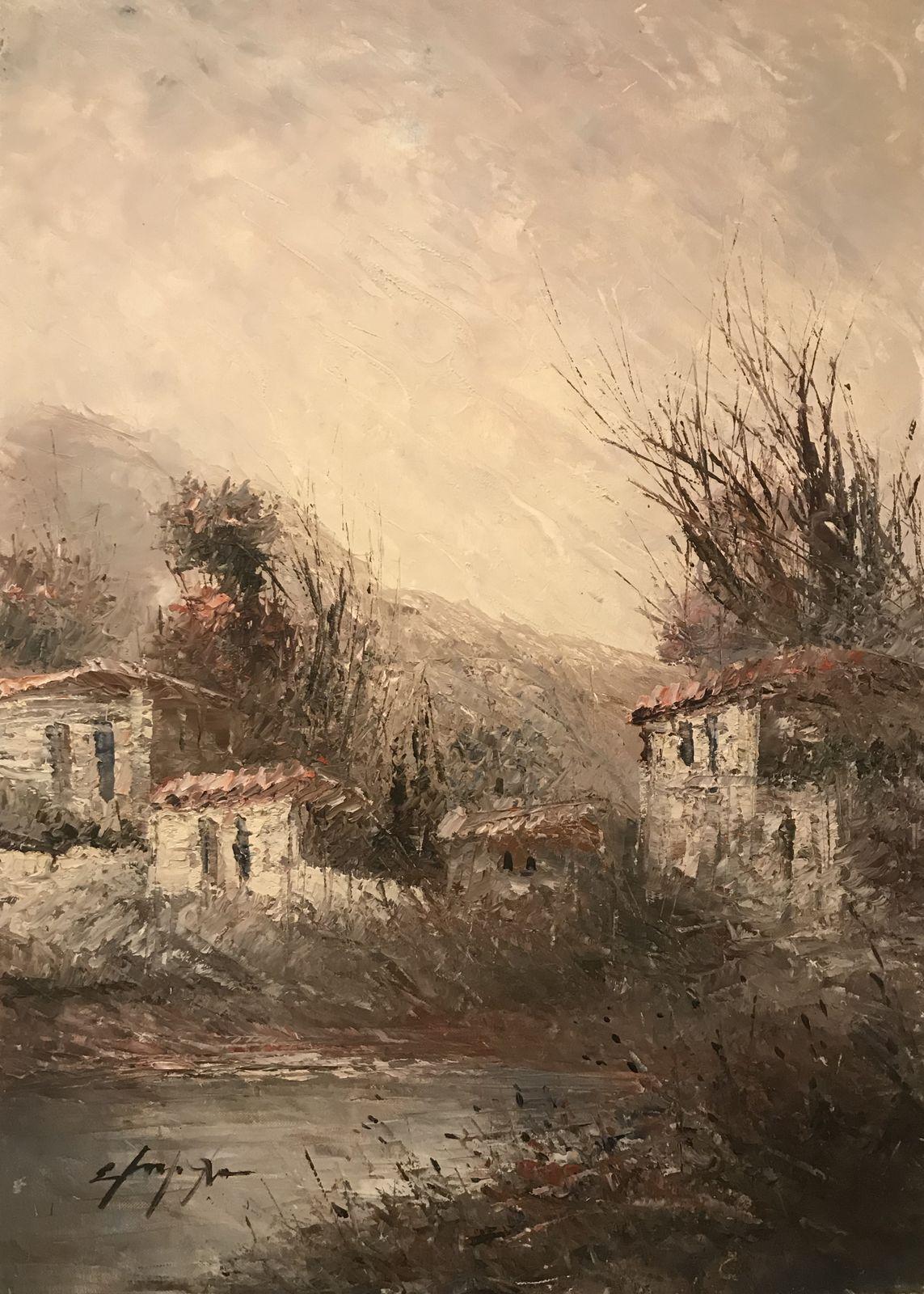 Σταματίνα Μαρνέζου 50×70 Ακρυλικά σε καμβά Stamatina Marnezou 50×70 Acrylics on canvas (3)