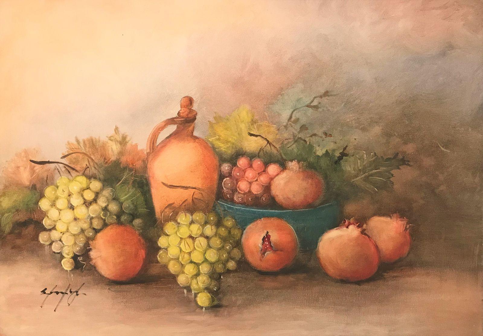 Σταματίνα Μαρνέζου 50×70 Ακρυλικά σε καμβά Stamatina Marnezou 50×70 Acrylics on canvas (4)