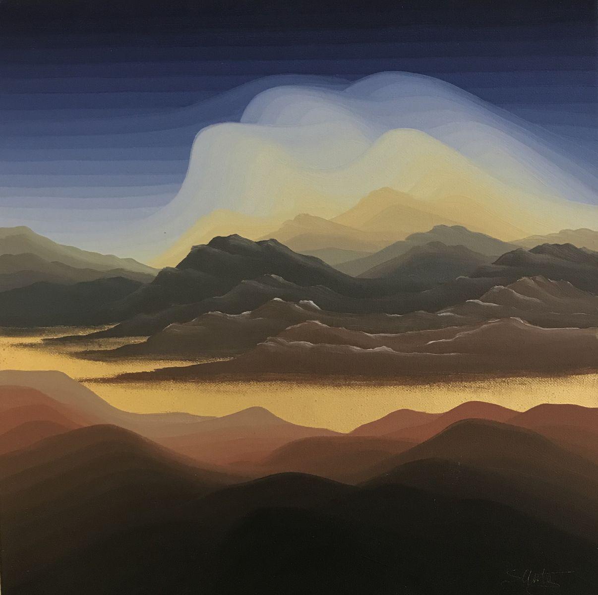 Στρατής Μεντάκης 30×30 εκ. Λάδια σε καμβά Stratis Mentakis 30×30 cm Oils on canvas (2)