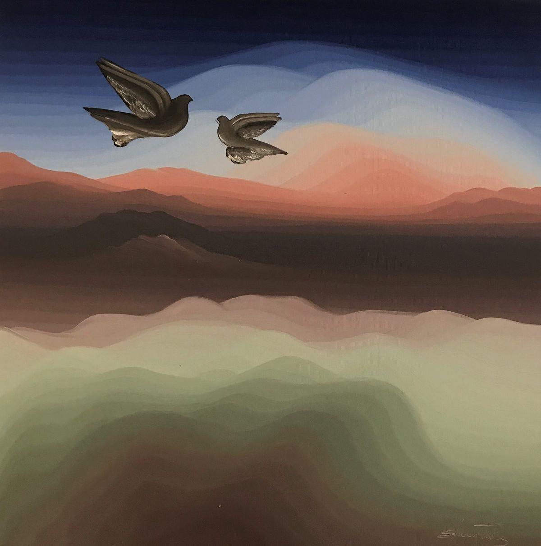 Στρατής Μεντάκης 30×30 εκ. Λάδια σε καμβά Stratis Mentakis 30×30 cm Oils on canvas (3)