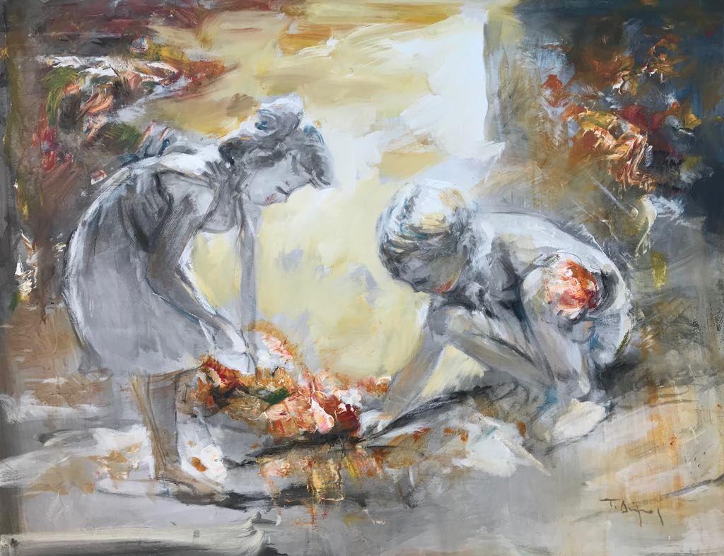 Τάσος Δήμος 80×100 εκ. Ακρυλικά σε καμβά Tasos Dimos 80×100 cm Acrylics on canvas