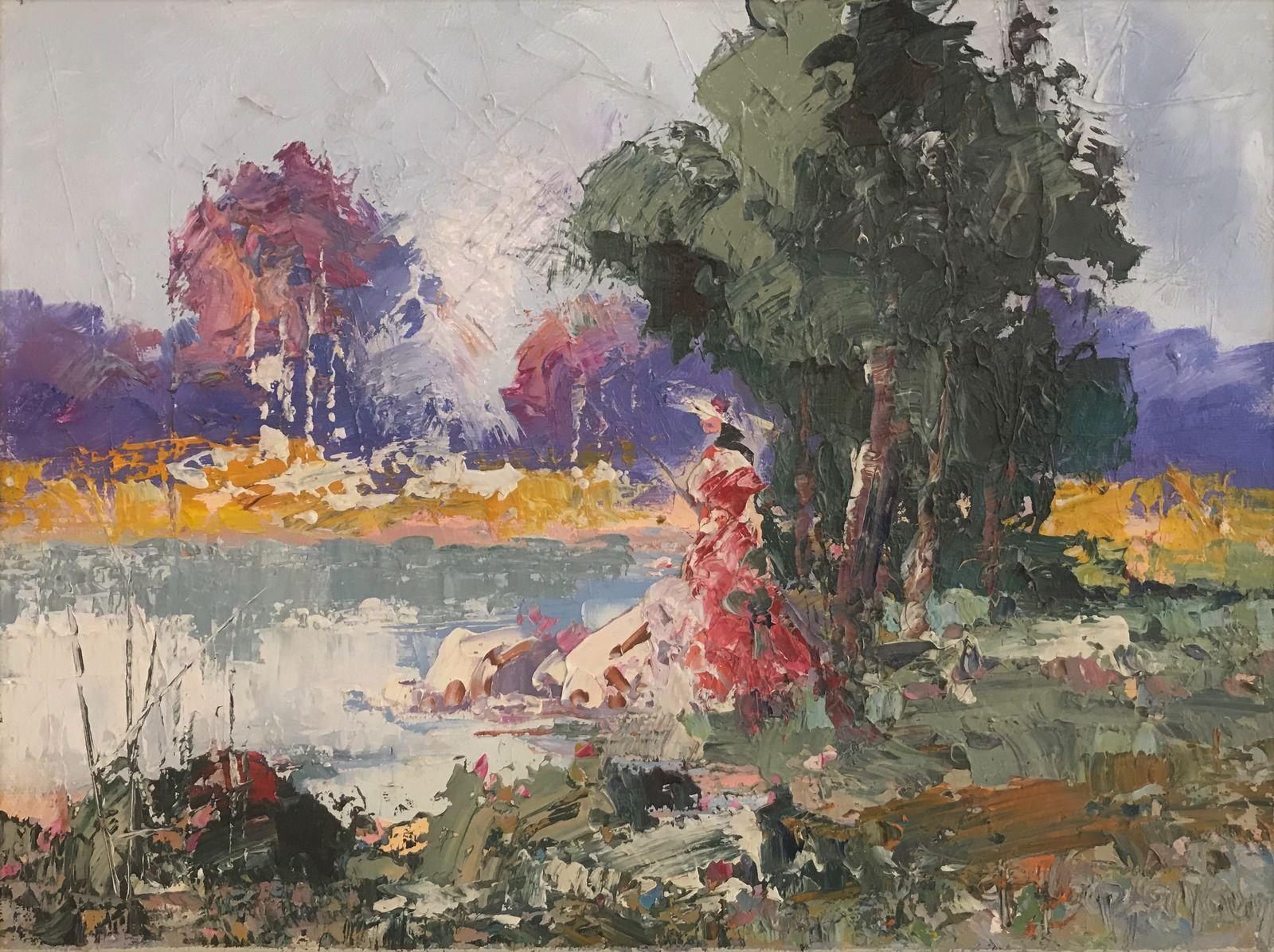 Φανή Παρλαπάνη 30×40 εκ. Λάδια σε καμβά Fani Parlapani 30×40 cm Oils on canvas (3)