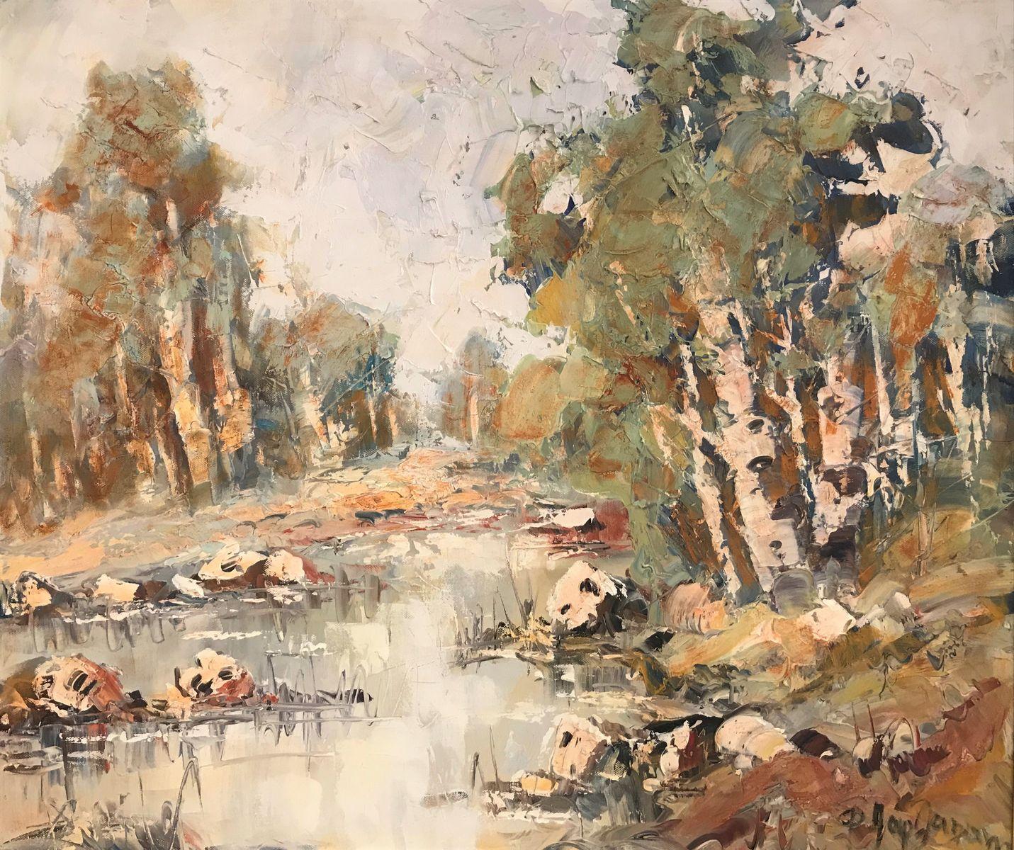 Φανή Παρλαπάνη 50×70 εκ. Λάδια σε καμβά Fani Parlapani 50×70 cm Oils on canvas (1)