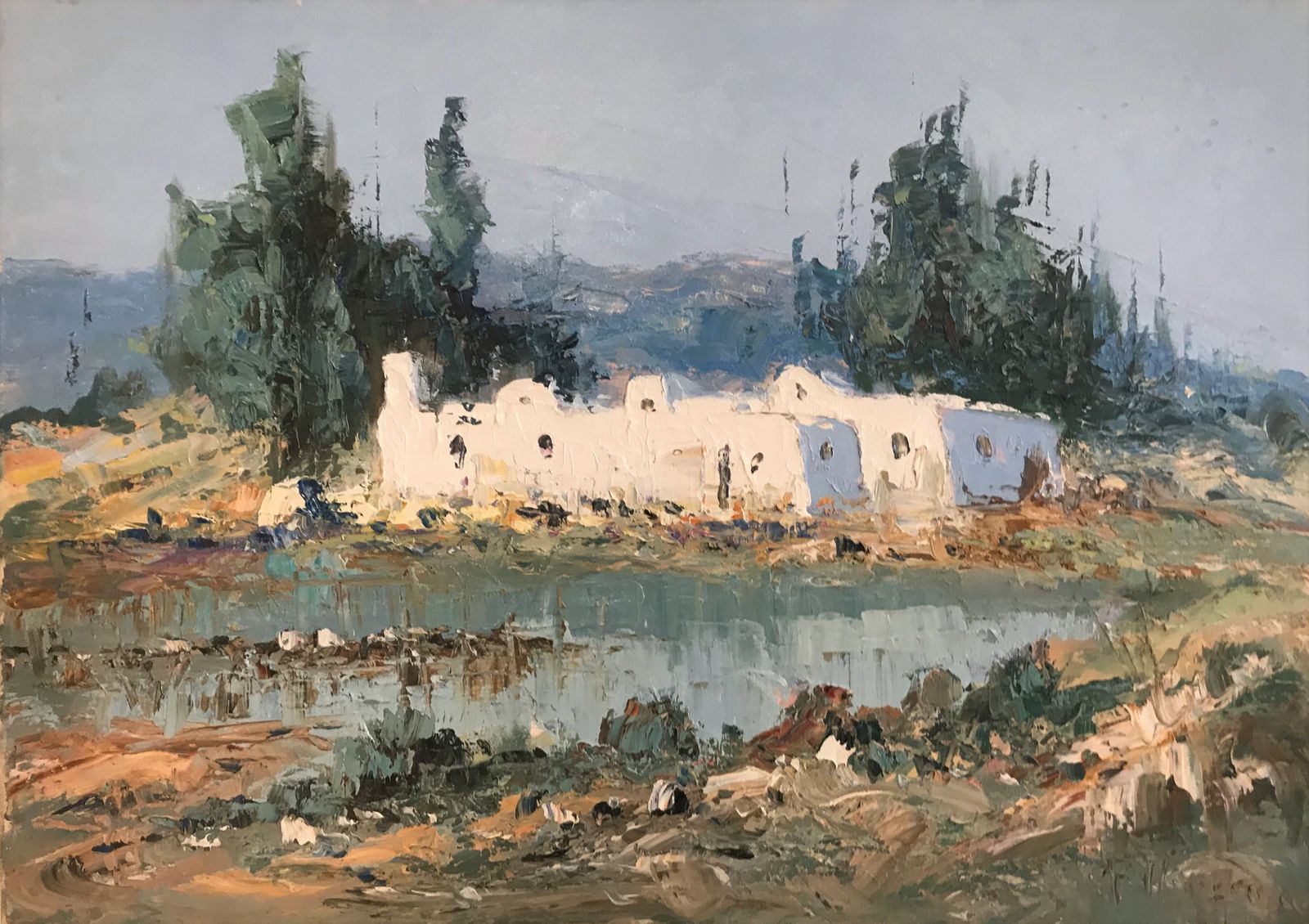 Φανή Παρλαπάνη 50×70 εκ. Λάδια σε καμβά Fani Parlapani 50×70 cm Oils on canvas (9)