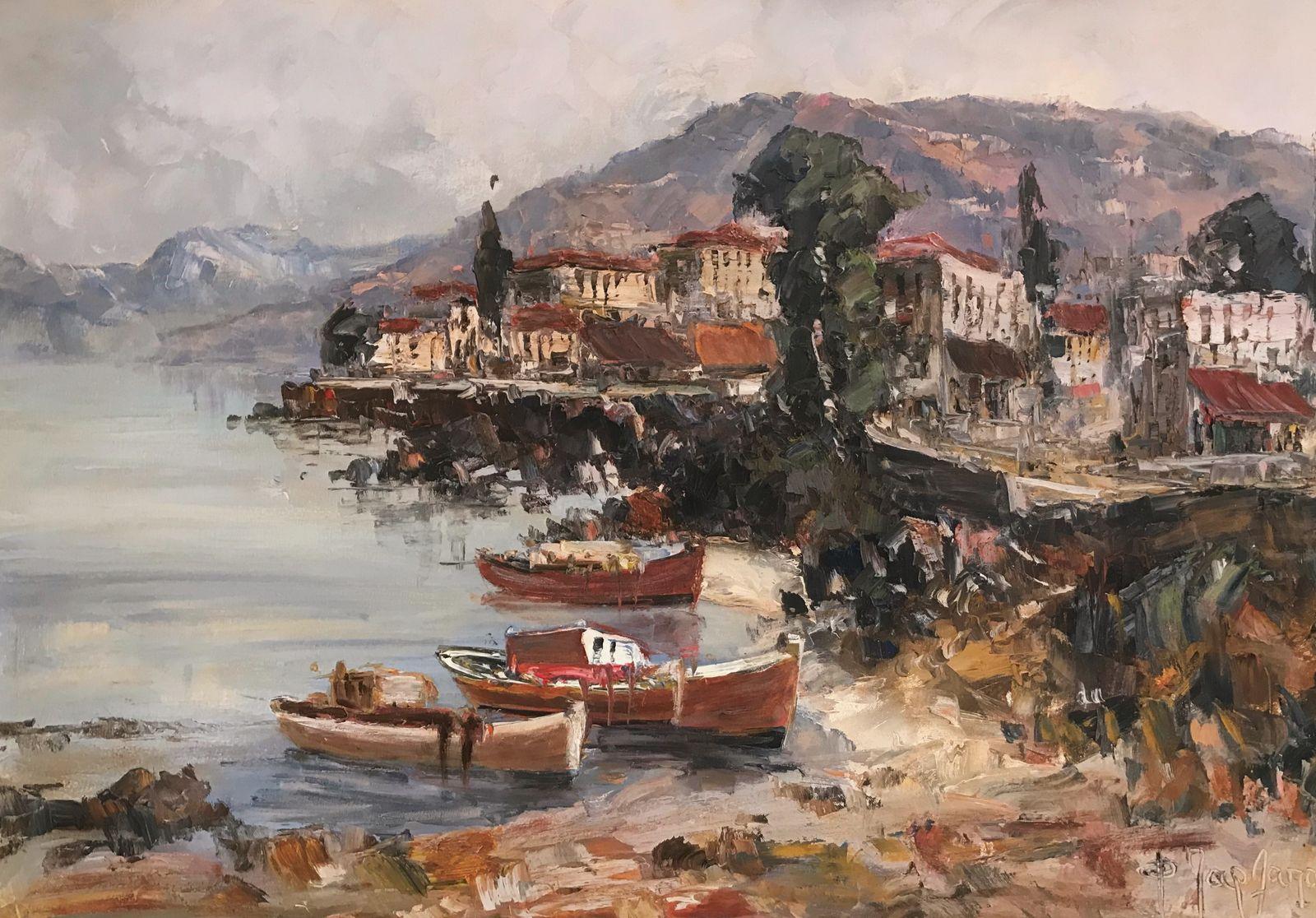 Φανή Παρλαπάνη 70×100 εκ. Λάδια σε καμβά Fani Parlapani 70×100 cm Oils on canvas (2)