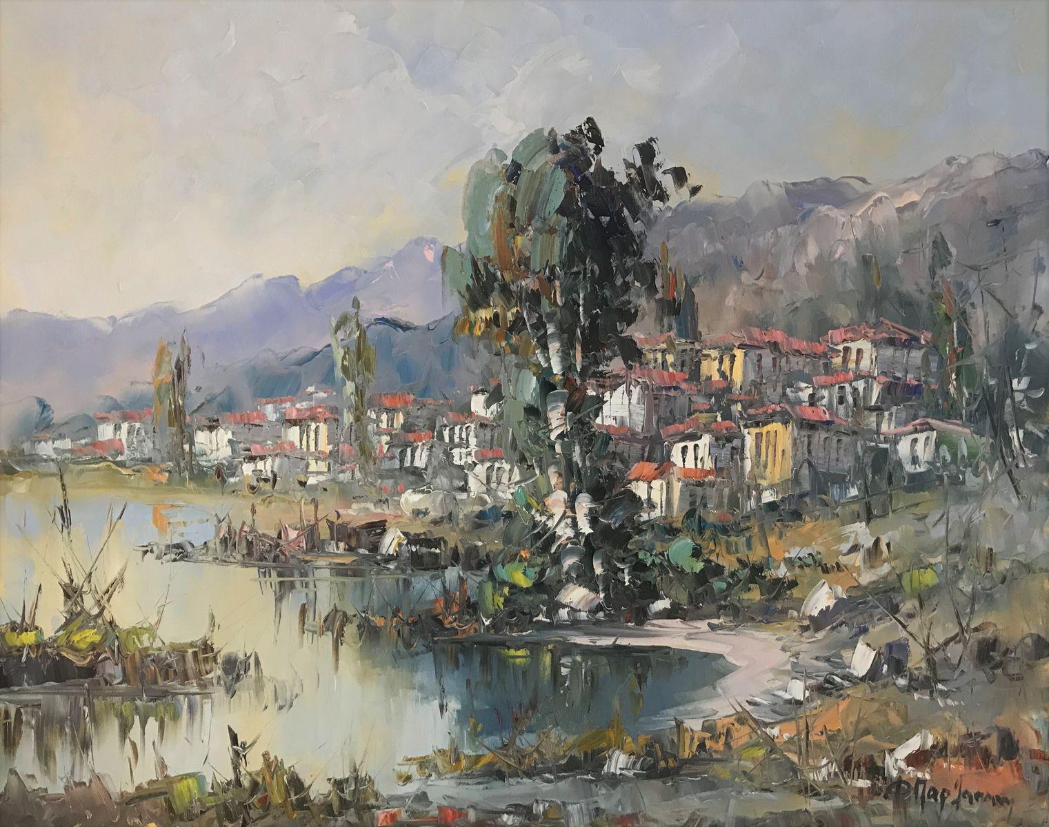 Φανή Παρλαπάνη 80×100 εκ. Λάδια σε καμβά Fani Parlapani 80×100 cm Oils on canvas