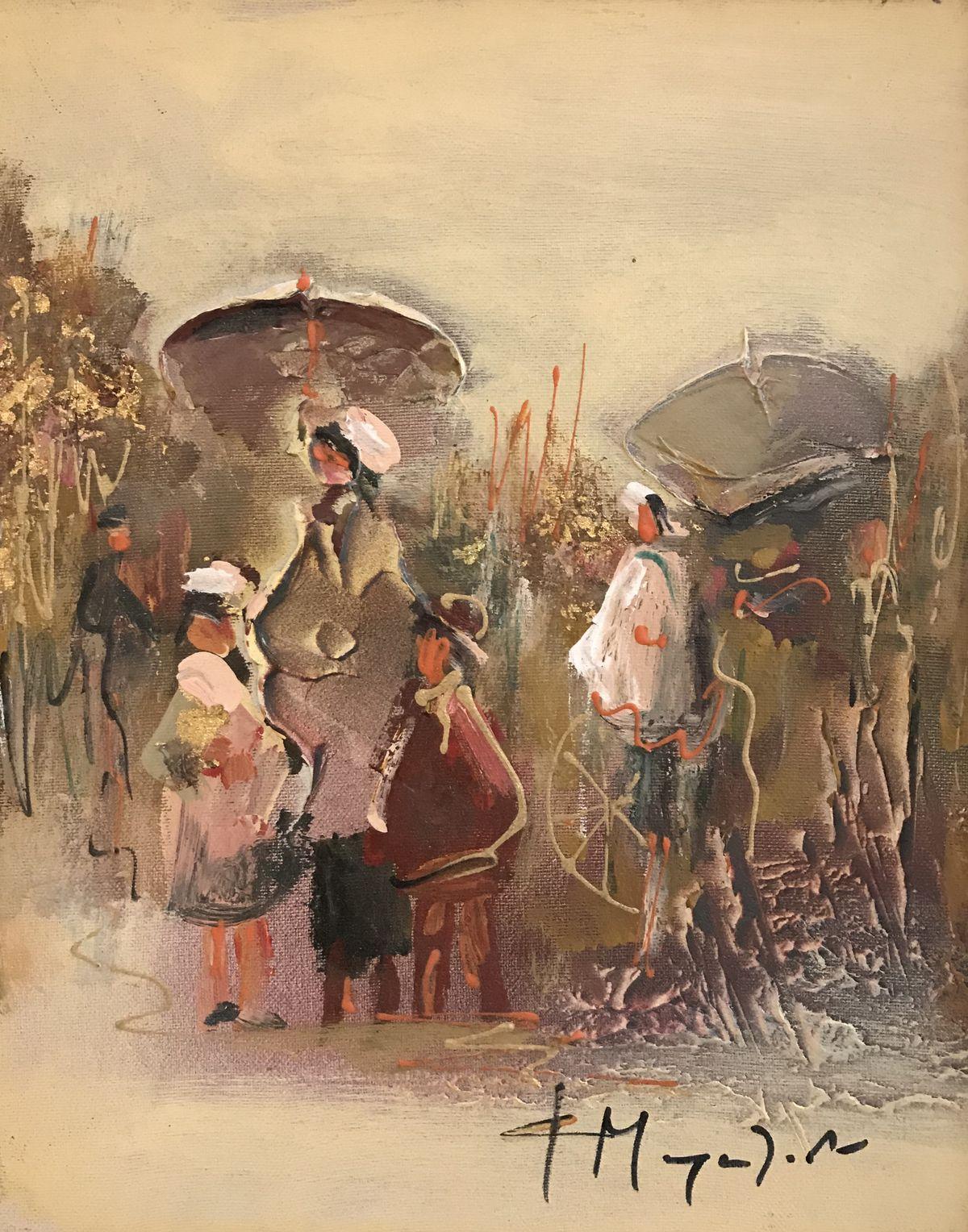 Φώφη Μουρατίδου 24×30 εκ. Ακρυλικά σε καμβά Fofi Mouratidou 24×30 cm Acrylics on canvas