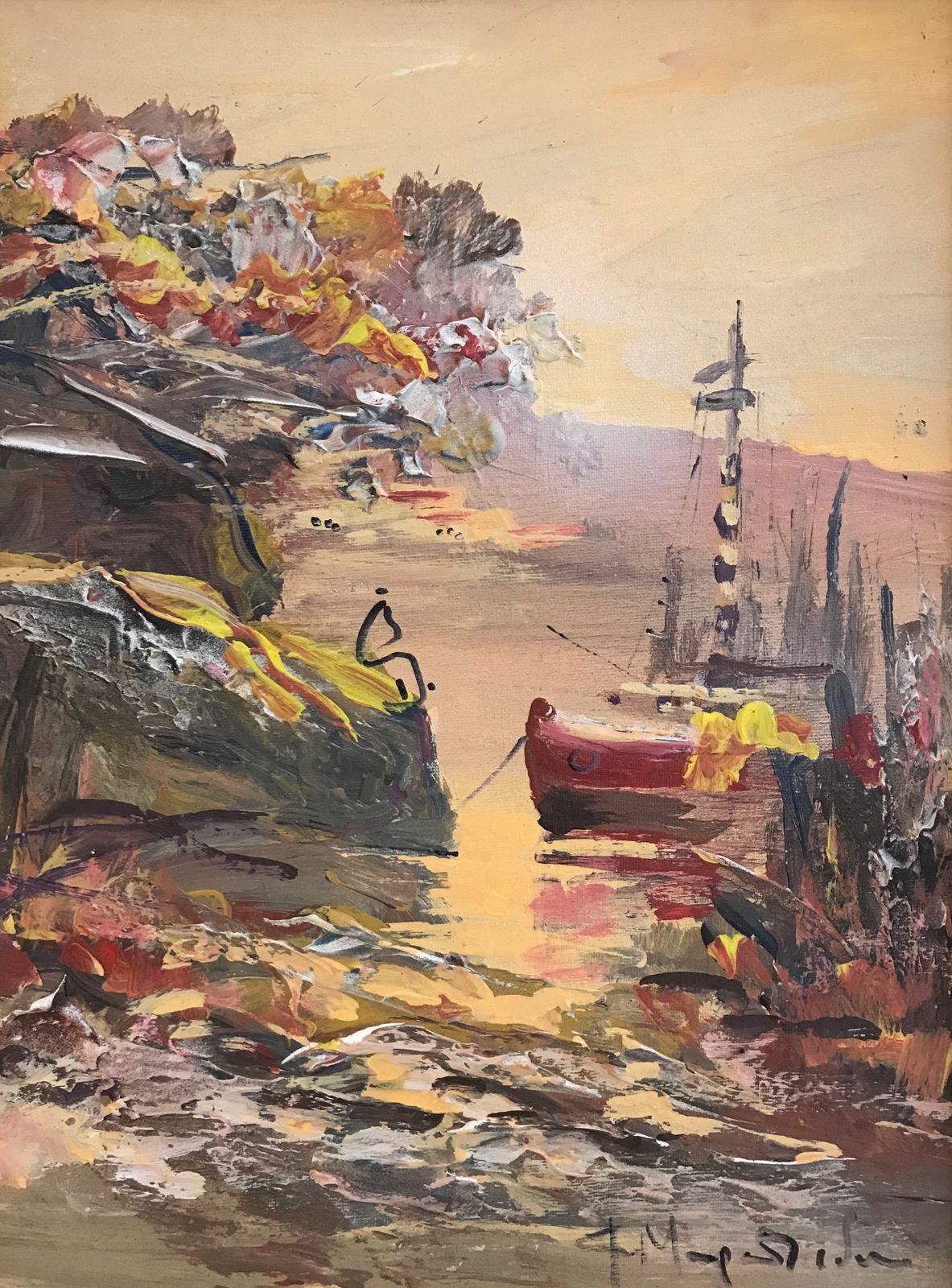 Φώφη Μουρατίδου 30×40 εκ. Ακρυλικά σε καμβά Fofi Mouratidou 30×40 cm Acrylics on canvas