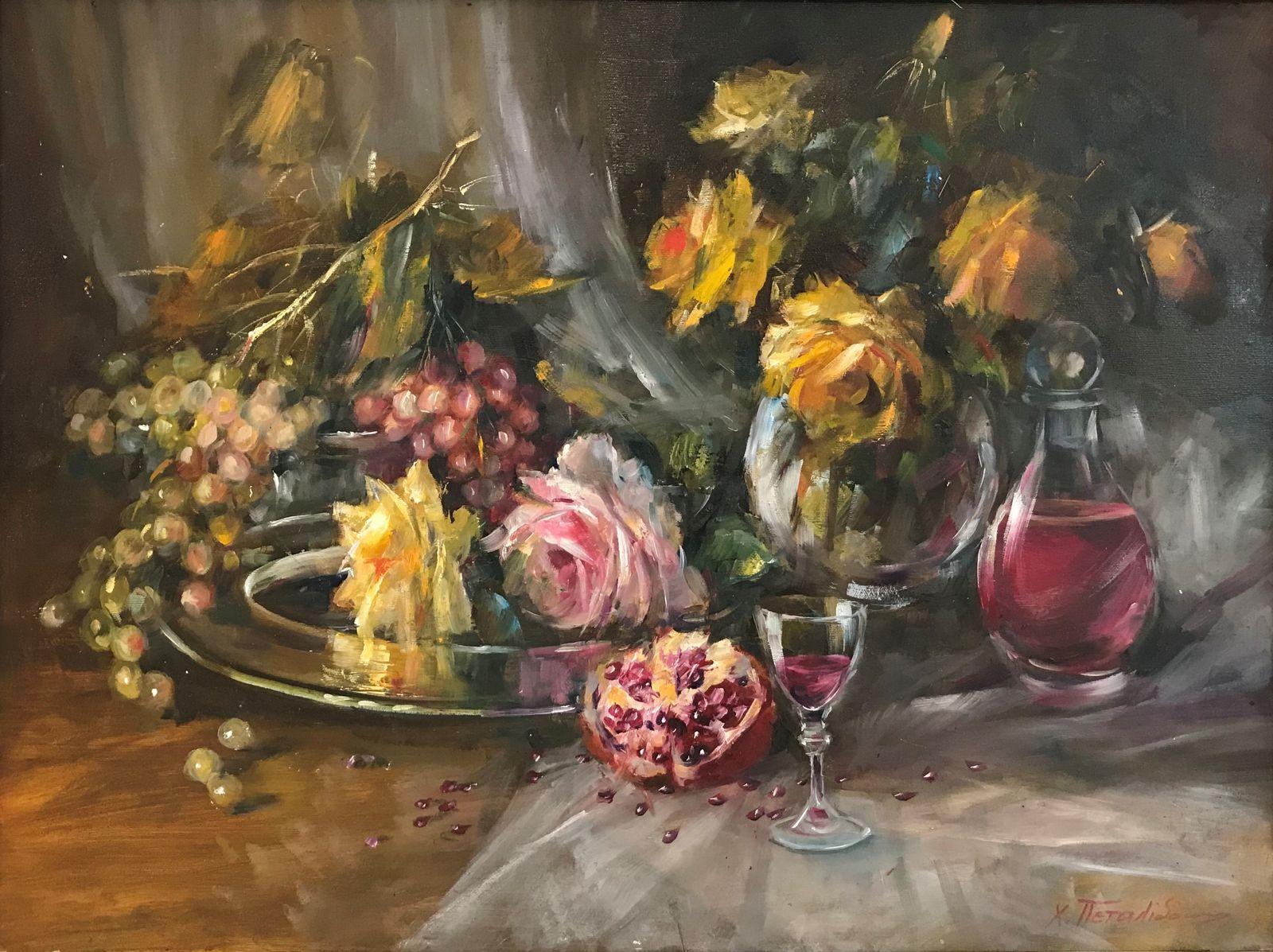 Χριστίνα Πεταλίδου 60×80 εκ. Λάδια σε καμβά Christina Petalidou 60×80 cm Oils on canvas