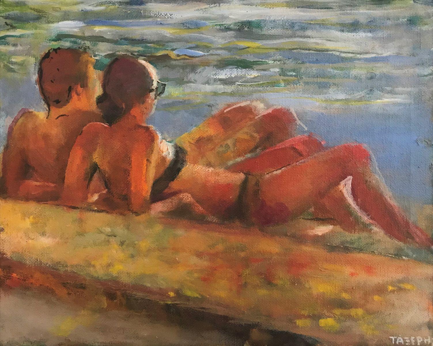 Γιώργος Τάξερης 24×30 εκ. Ακρυλικά σε καμβά Giorgos Taxeris 24×30 cm Acrylics on canvas