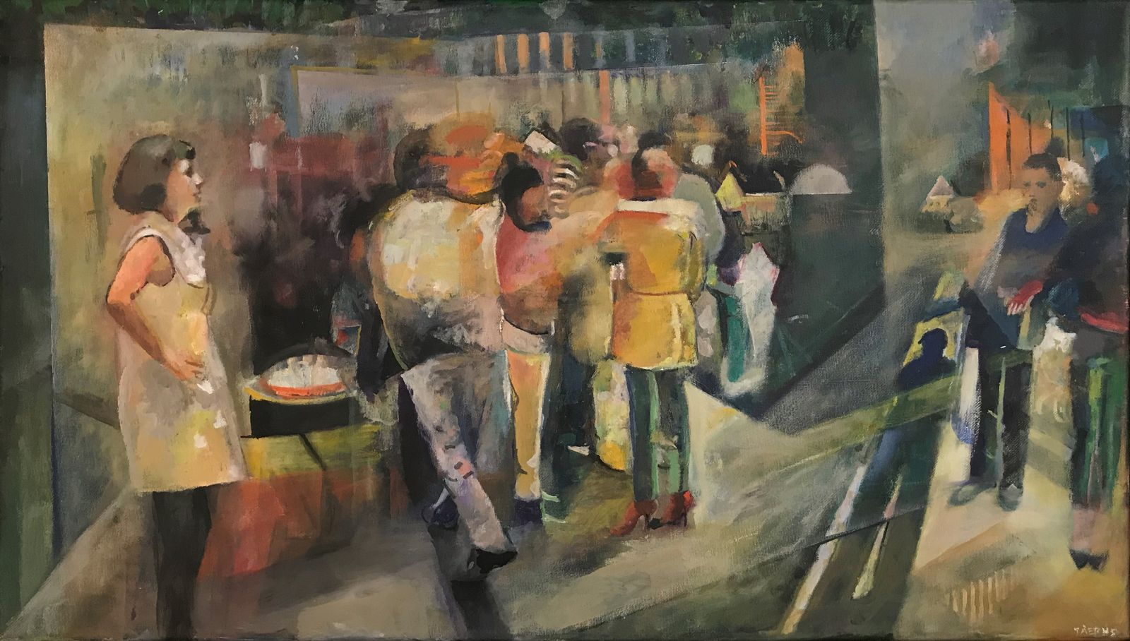 Γιώργος Τάξερης 40×70 εκ. Ακρυλικά σε καμβά Giorgos Taxeris 40×70 cm Acrylics on canvas